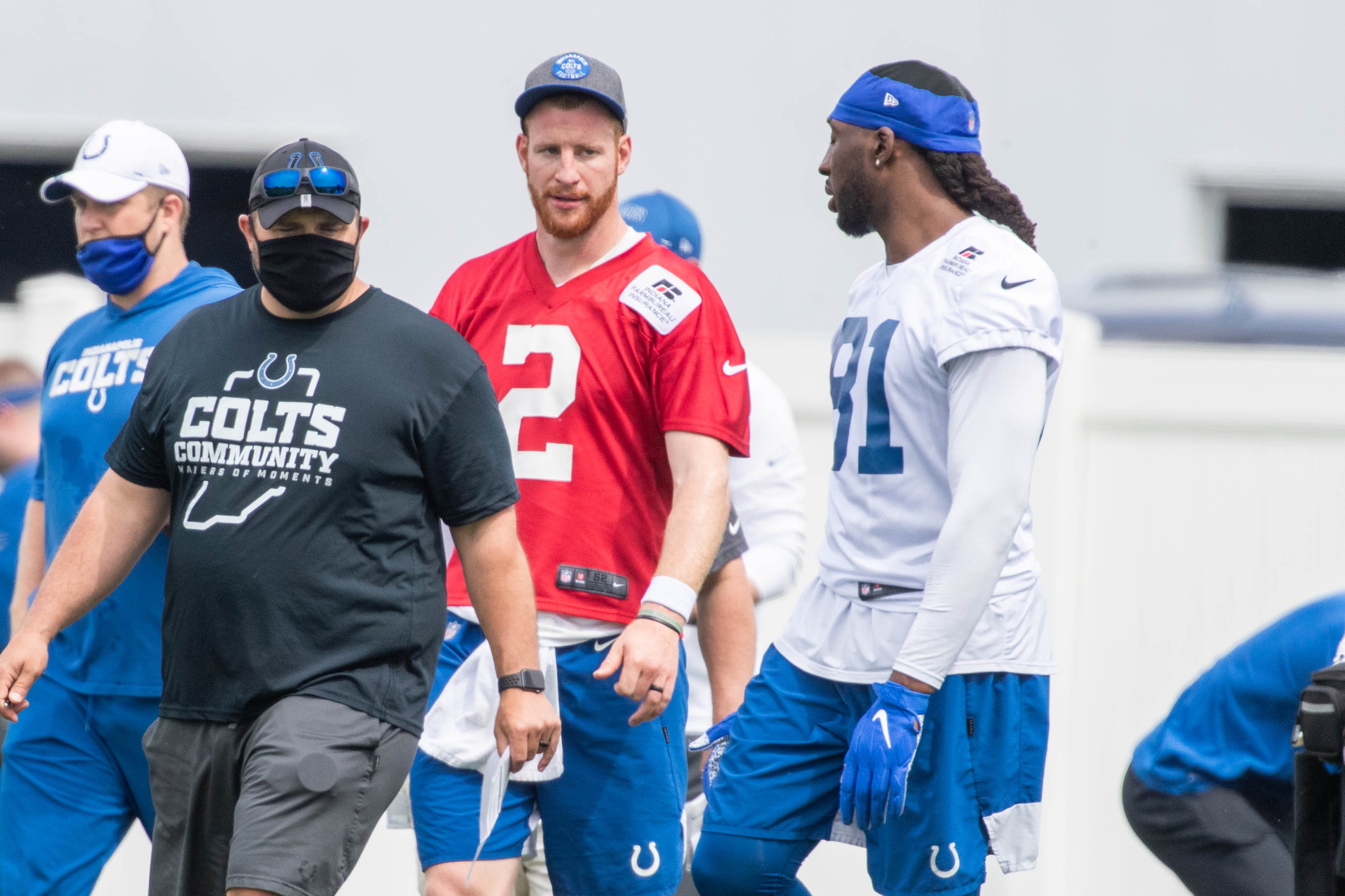 NFL: Indianapolis Colts OTA