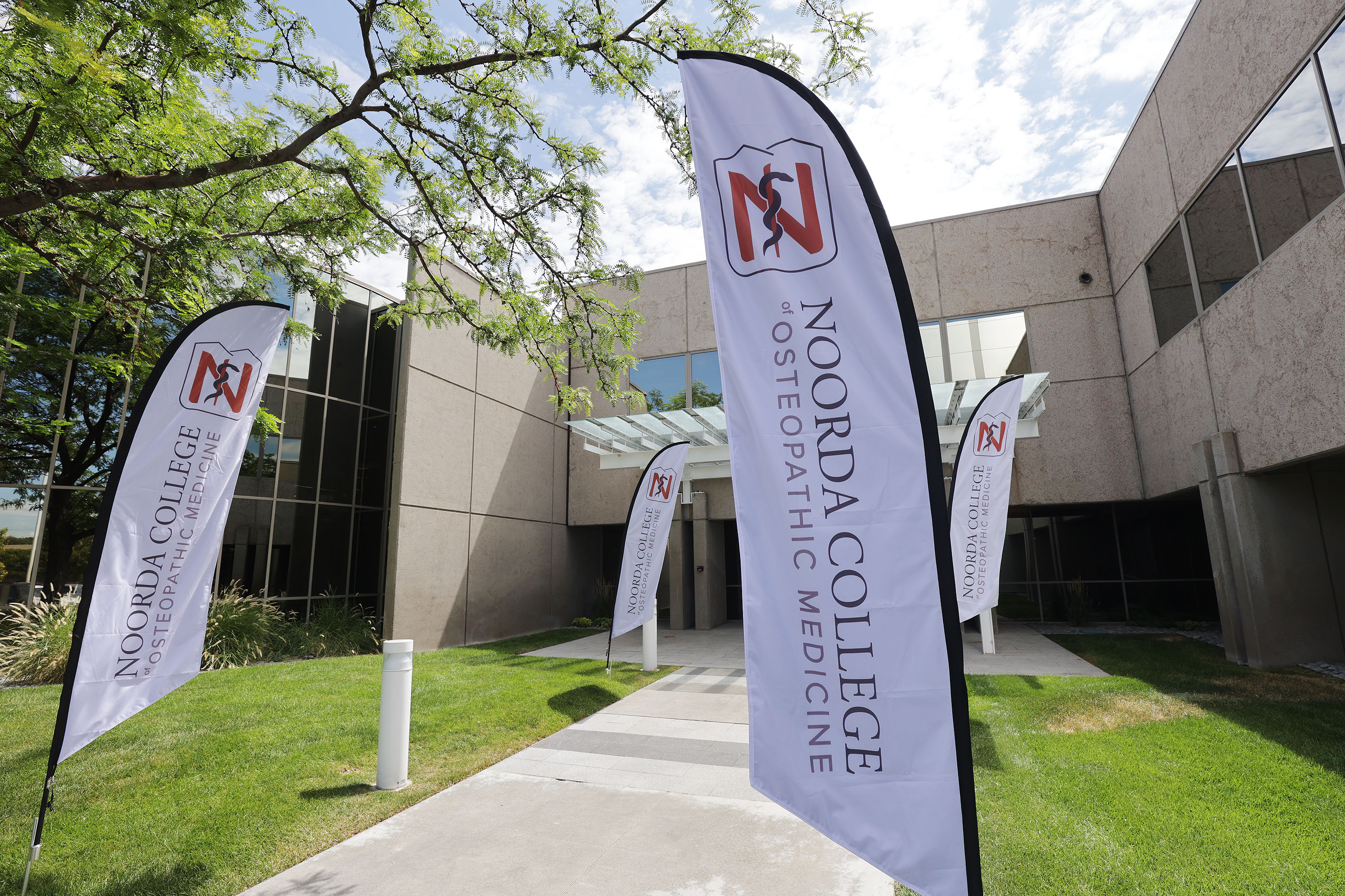The Noorda College of Osteopathic Medicine school campusin Provo is pictured on July 27,