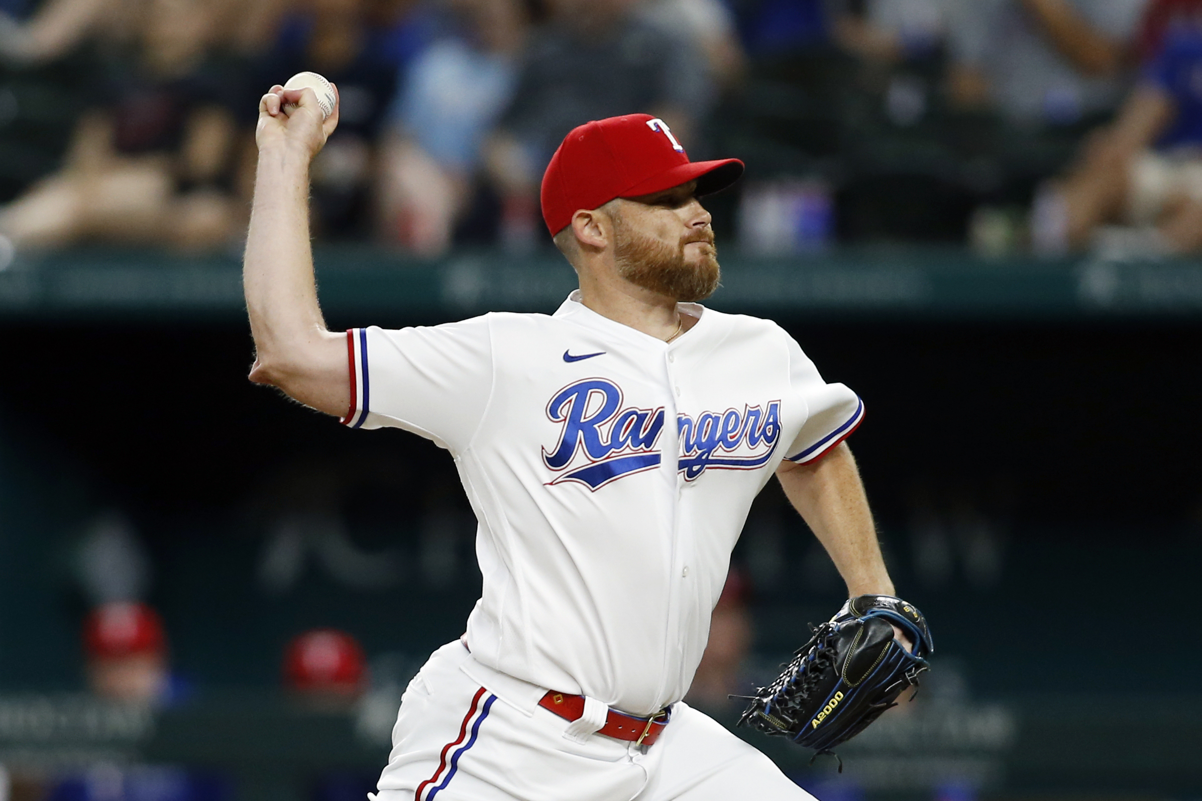 MLB: Arizona Diamondbacks at Texas Rangers