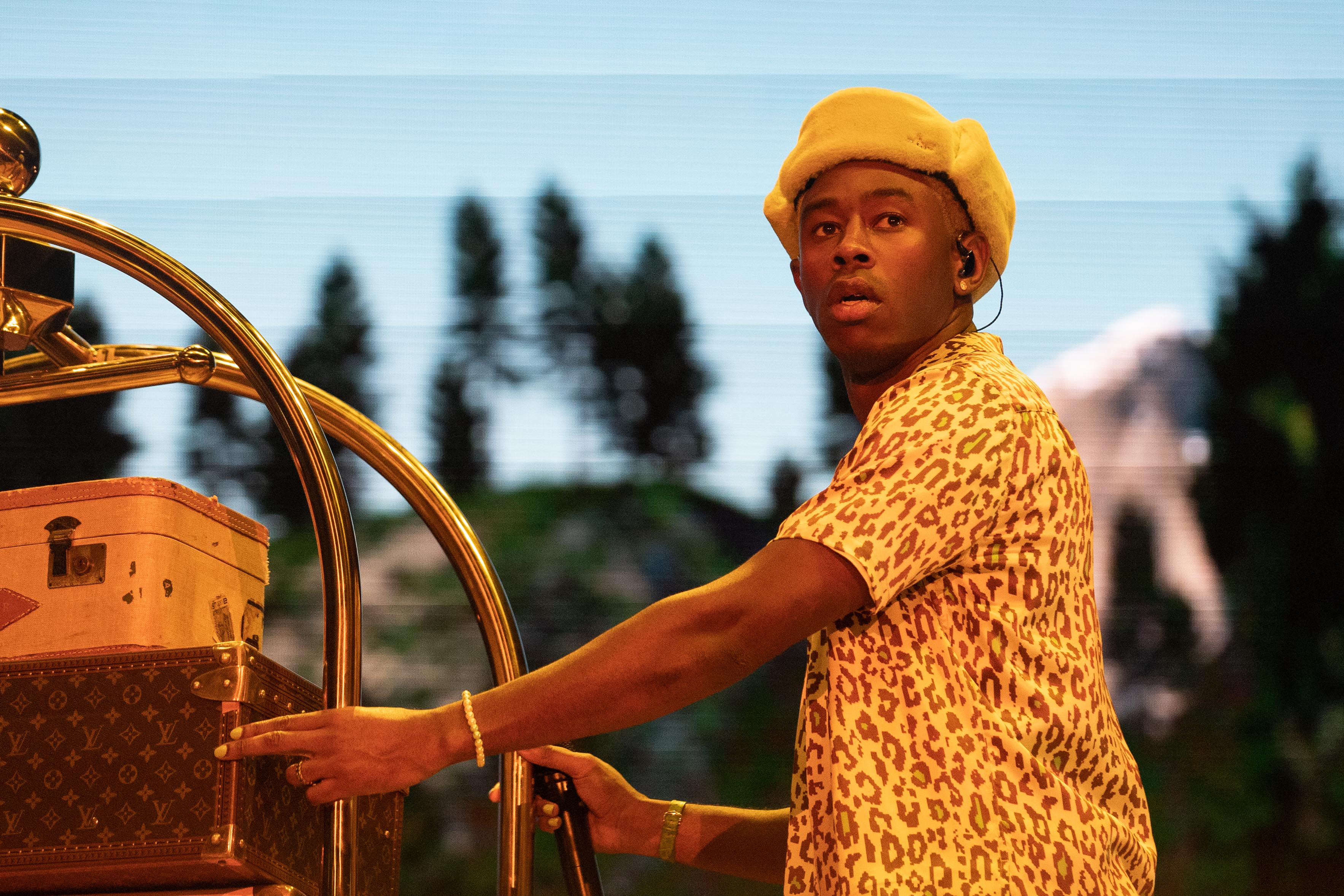 Tyler, The Creator closes out the show on the T-Mobile stage Friday night.