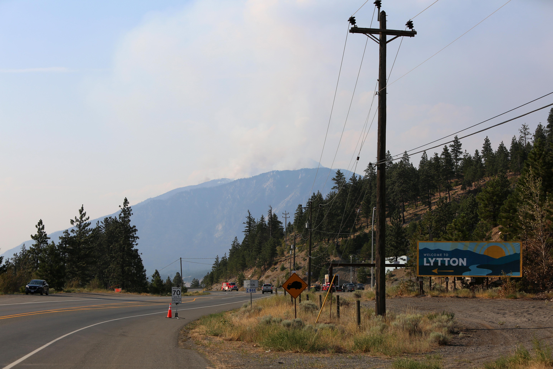 Fires in Lytton, British Columbia
