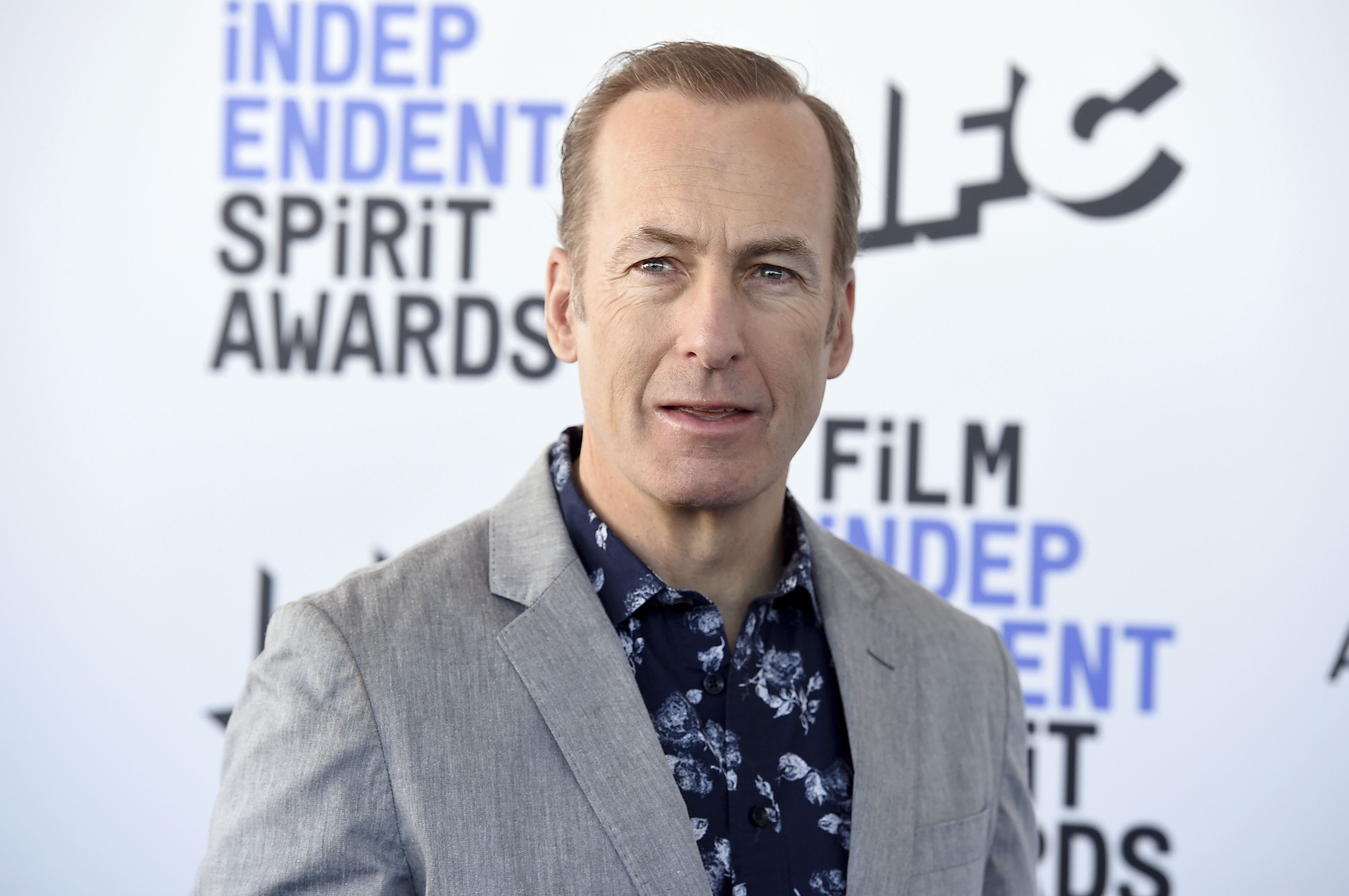 Bob Odenkirk arrives at the 35th Film Independent Spirit Awards in 2020 in Santa Monica, California.