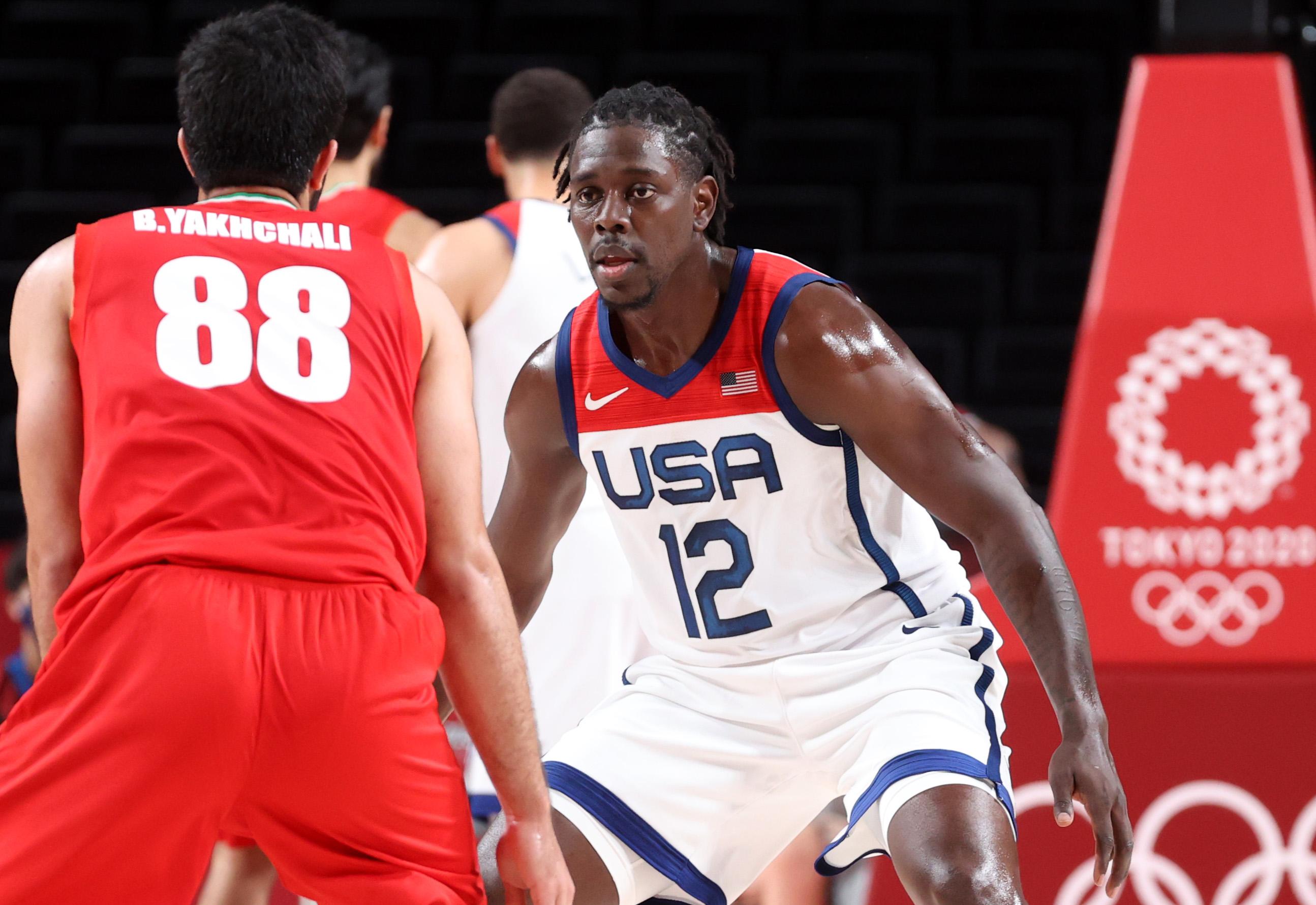 United States v Iran Men's Basketball - Olympics: Day 5