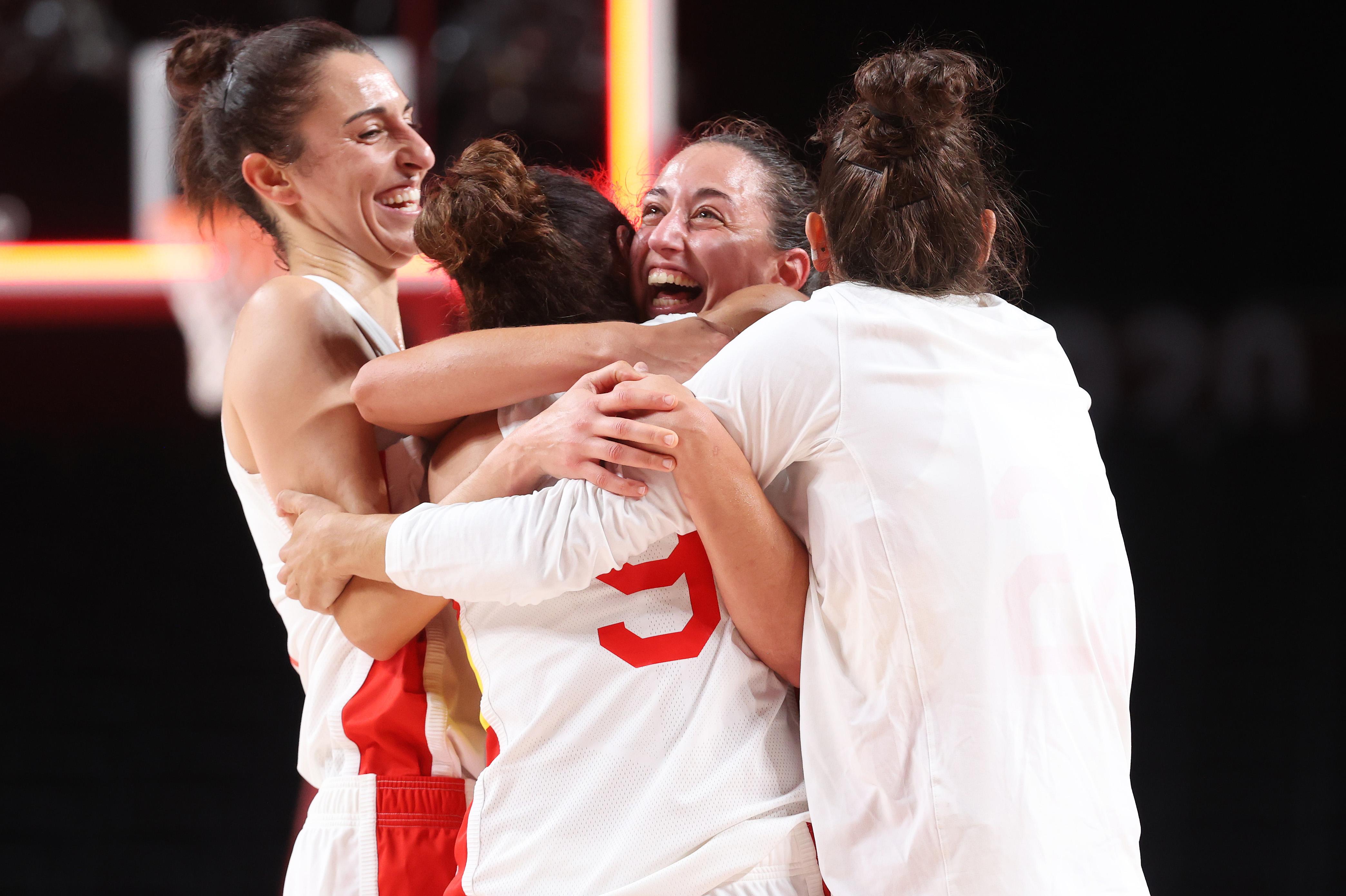 Spain v Serbia Women's Basketball - Olympics: Day 6