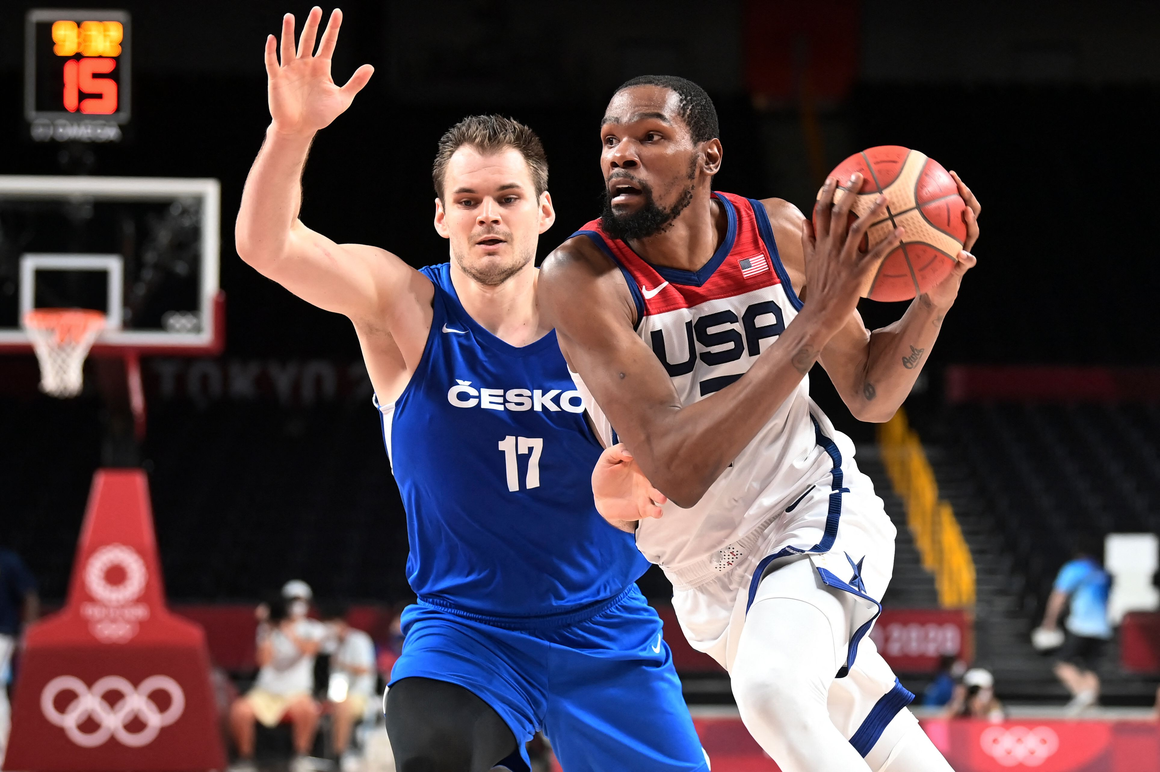 BASKETBALL-OLY-2020-2021-TOKYO-USA-CZE