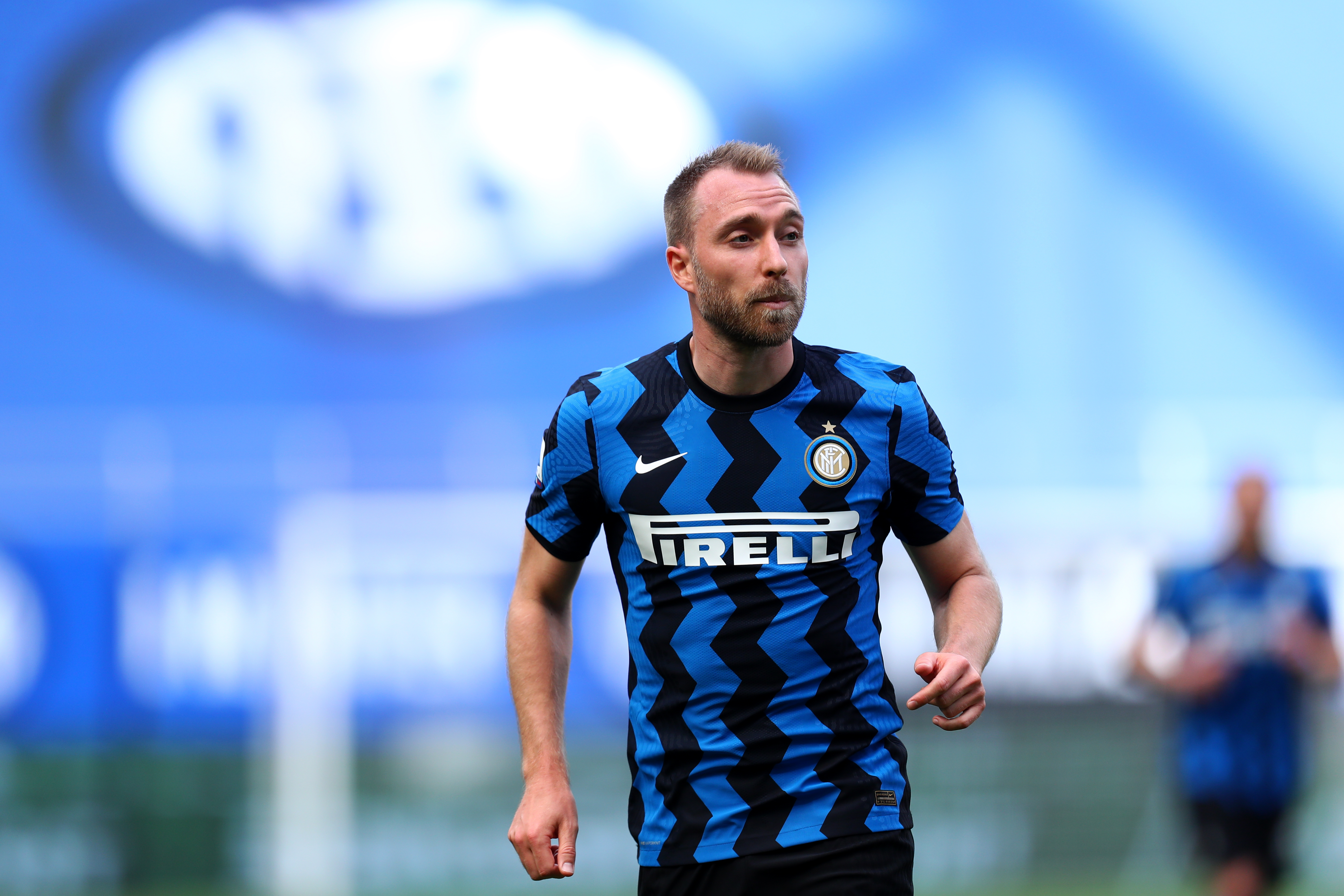 Christian Eriksen of Fc Internazionale looks on during the...