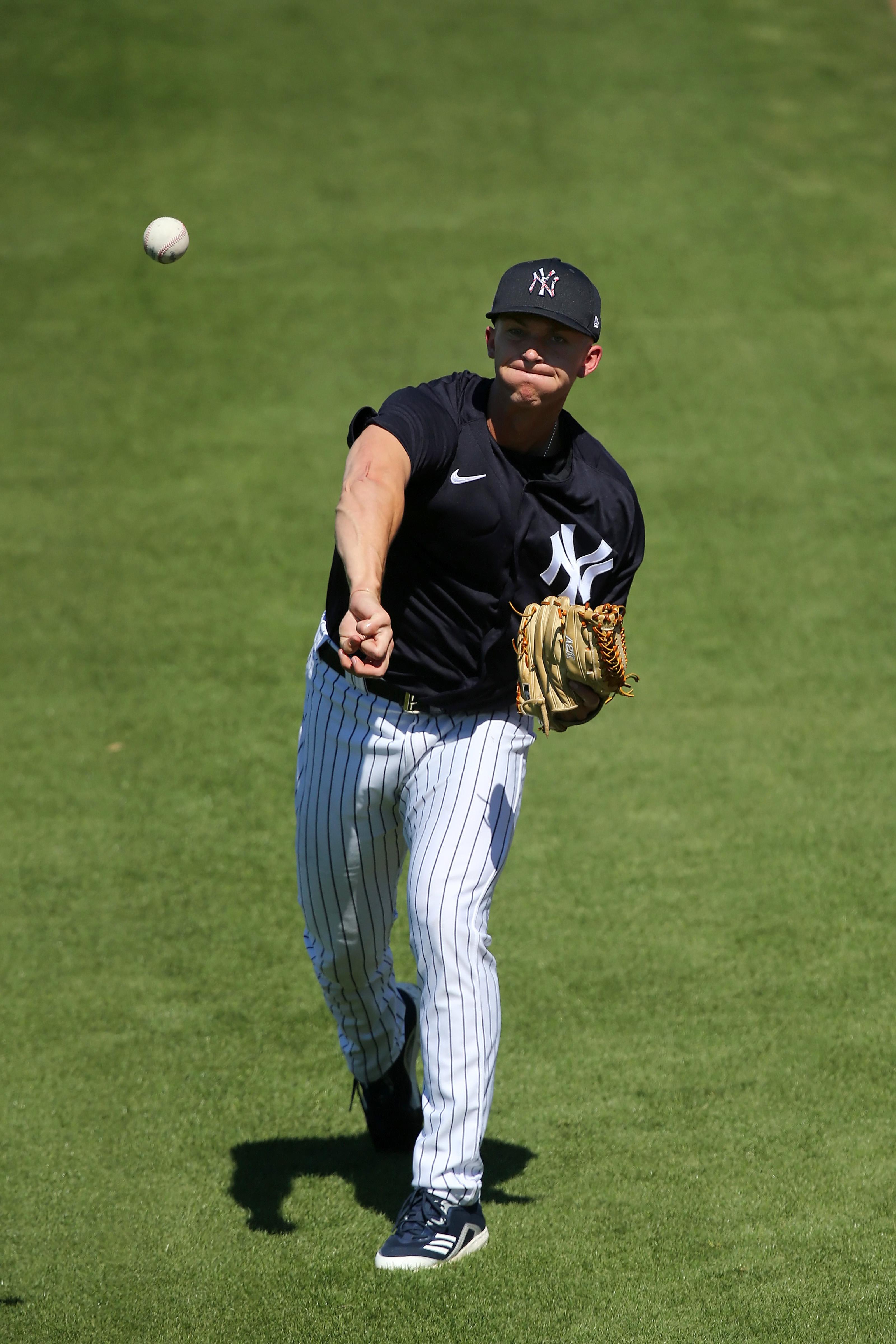 MLB: FEB 26 Spring Training - Yankees Workout