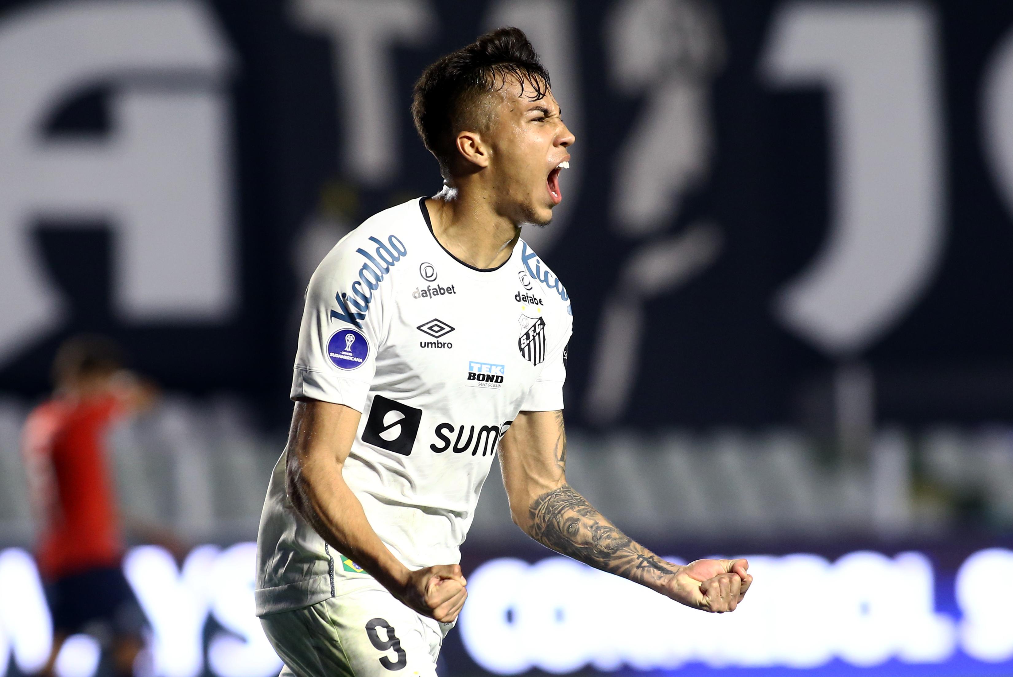 Santos v Independiente - Copa CONMEBOL Sudamericana 2021