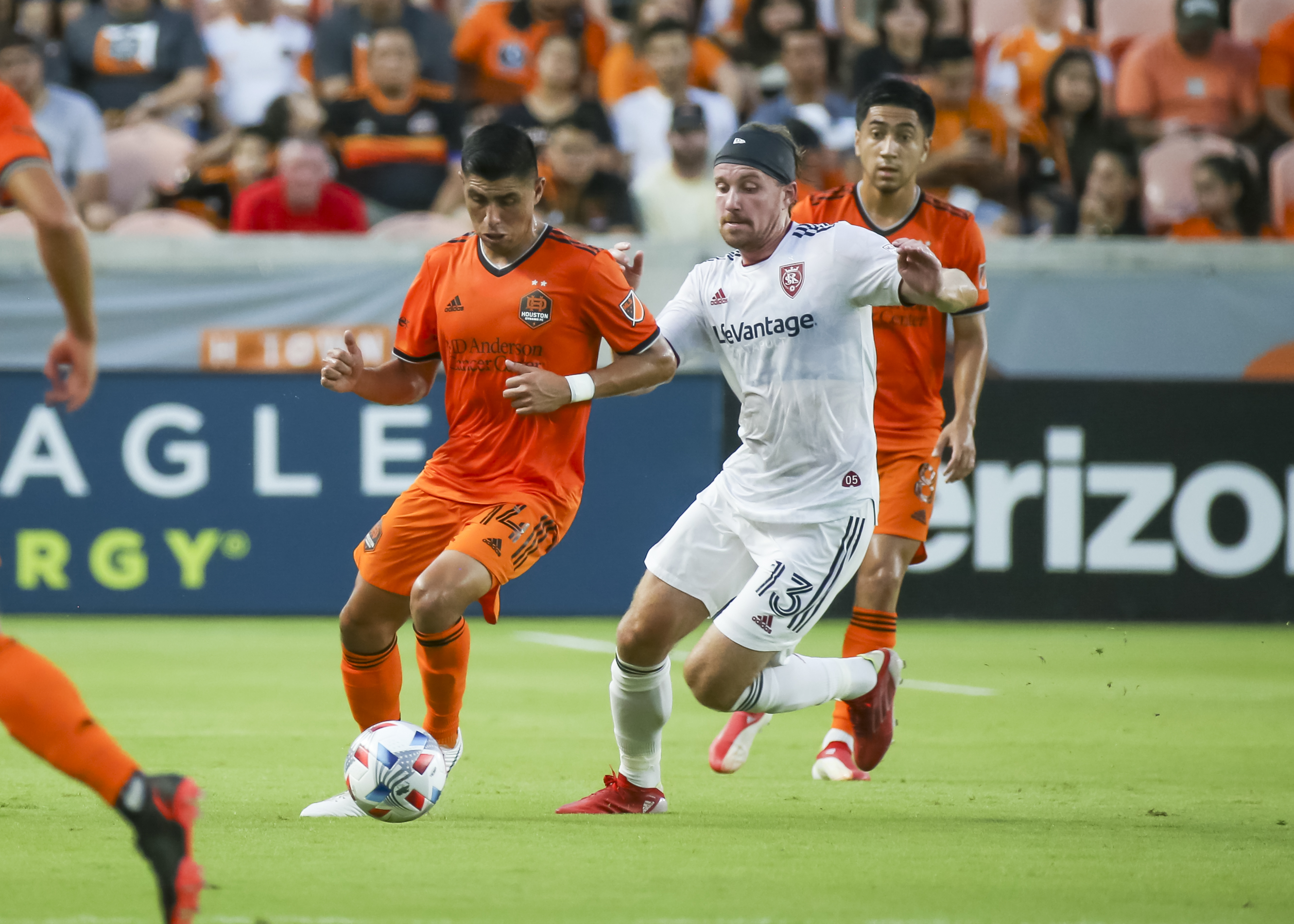 SOCCER: JUL 31 MLS - Real Salt Lake at Houston Dynamo FC