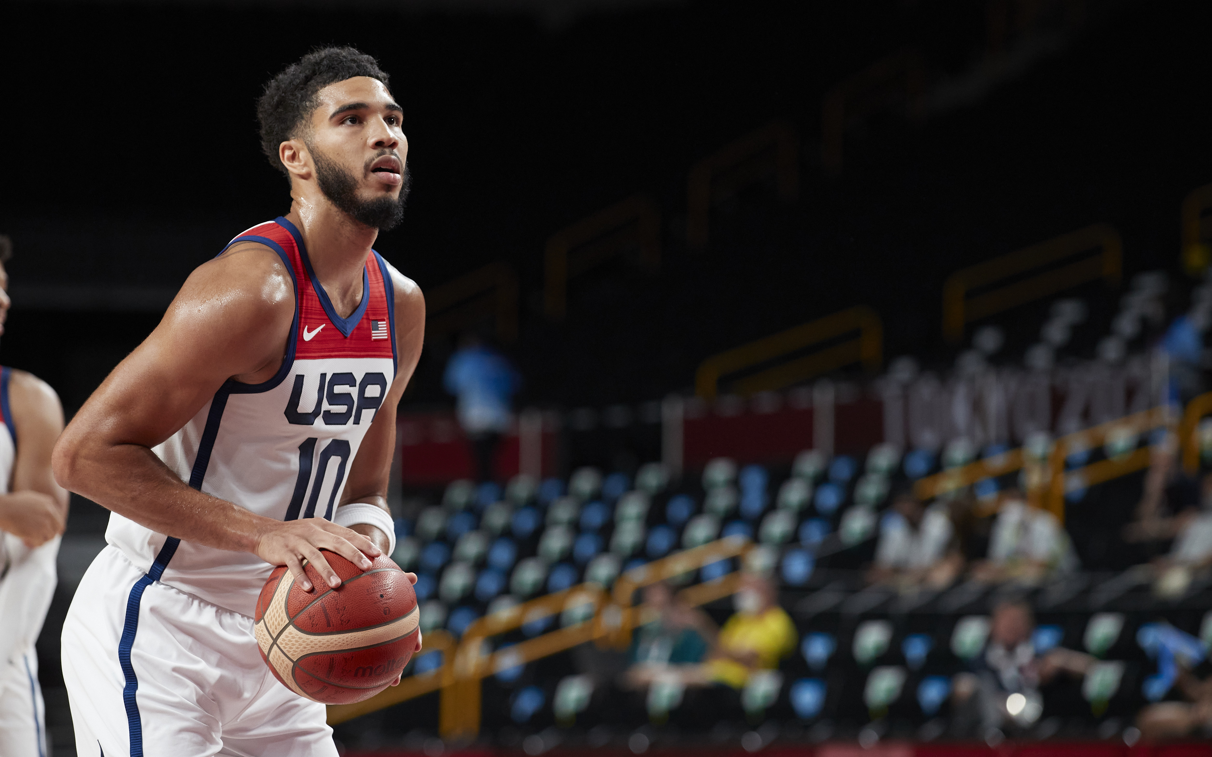 United States v Islamic Republic of Iran - Basketball - Preliminary Round - Group A - Olympics - Day 5