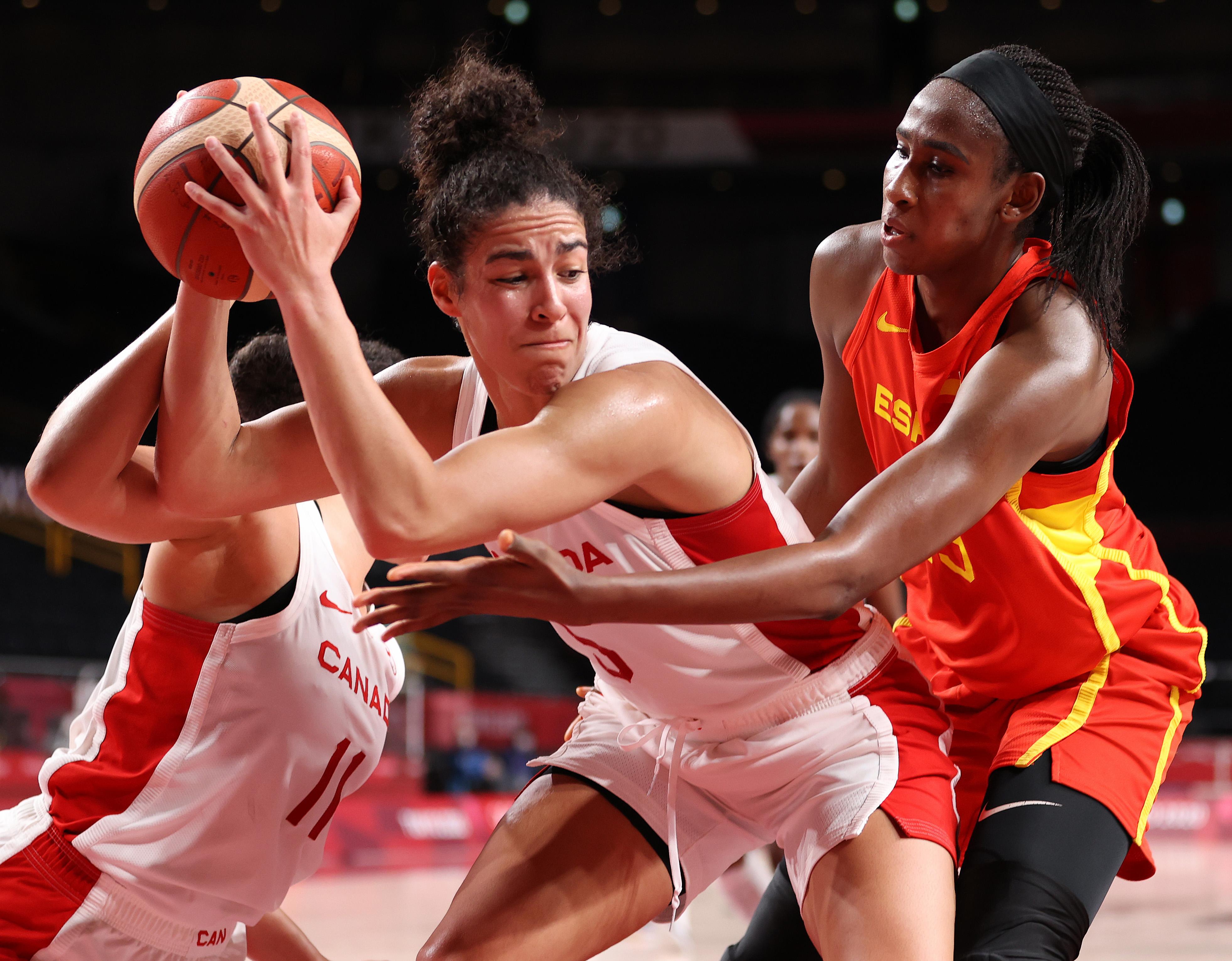 Canada v Spain Women's Basketball - Olympics: Day 9