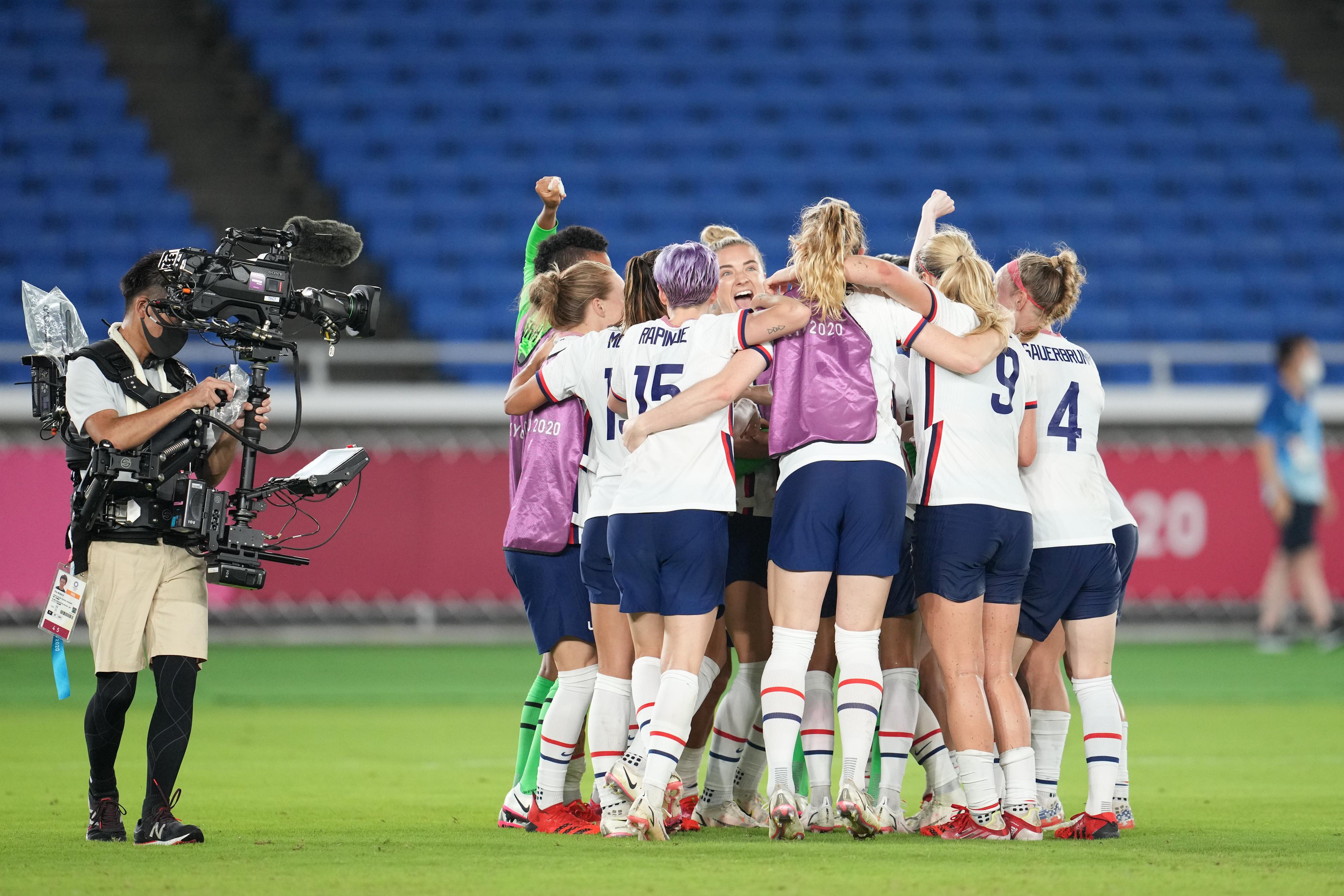 Netherlands v United States: Women's Football Quarterfinal - Olympics: Day 7