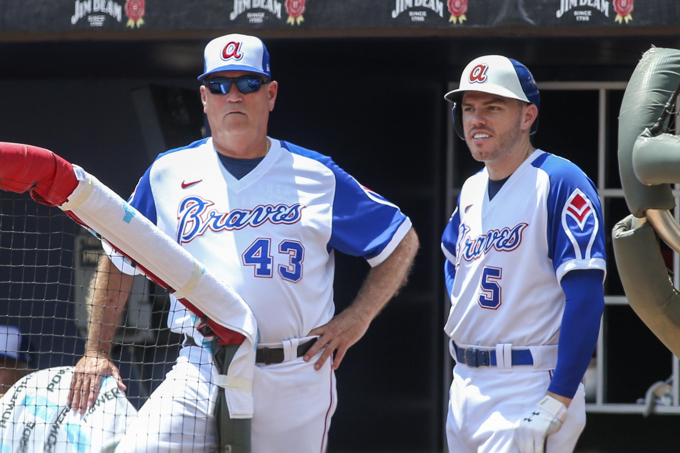 MLB: Milwaukee Brewers at Atlanta Braves