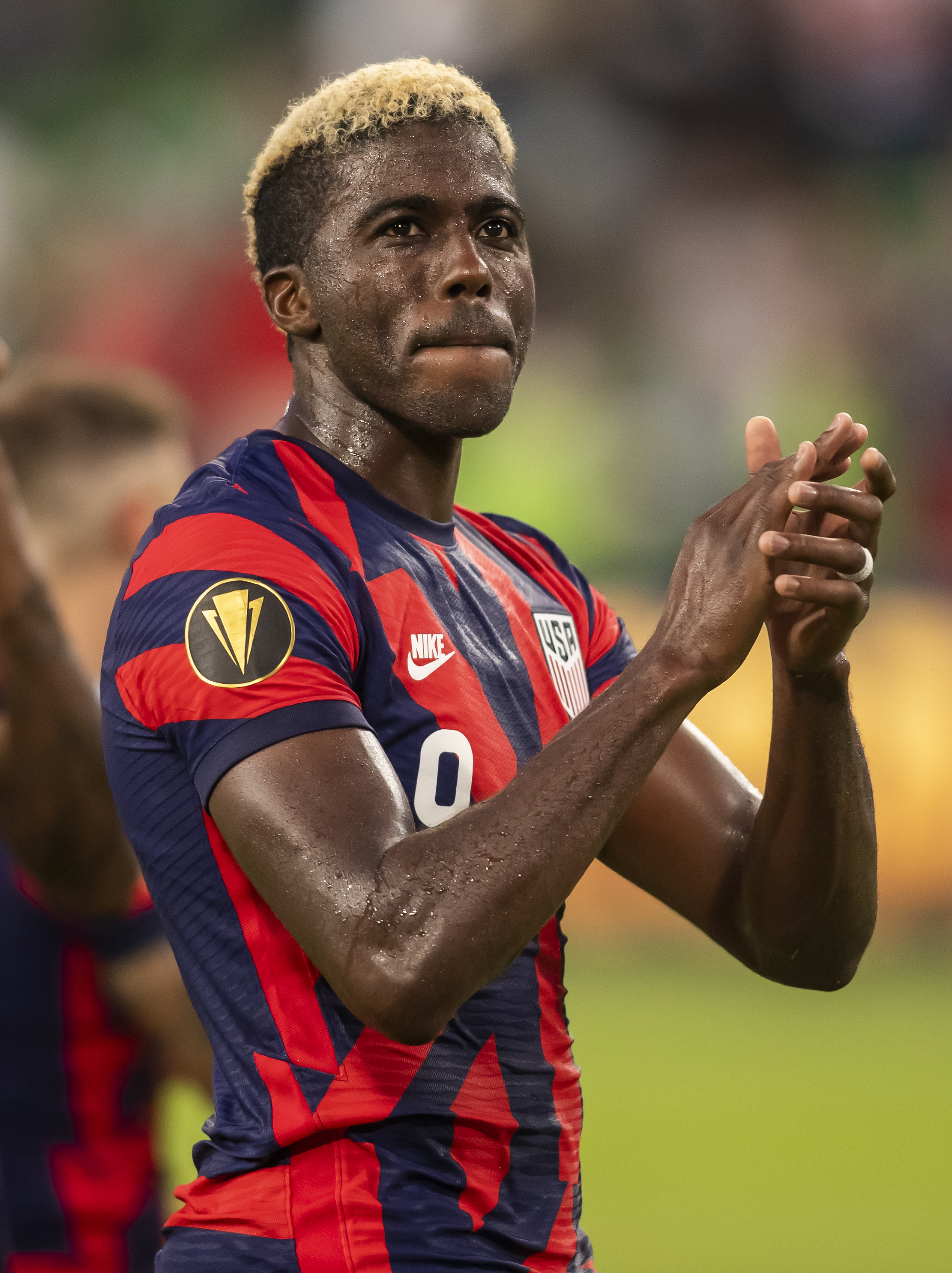 SOCCER: JUL 29 Concacaf Gold Cup Semifinal - United States v Qatar