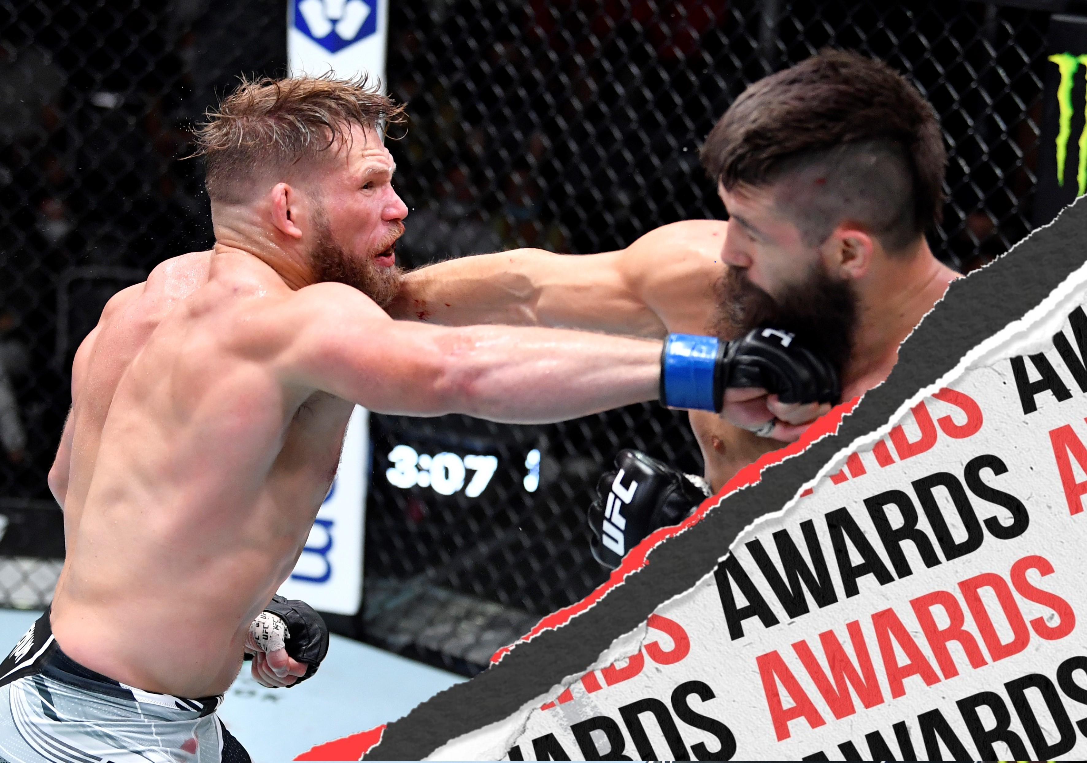 Jason Witt fighting Bryan Barberena at UFC Vegas 33