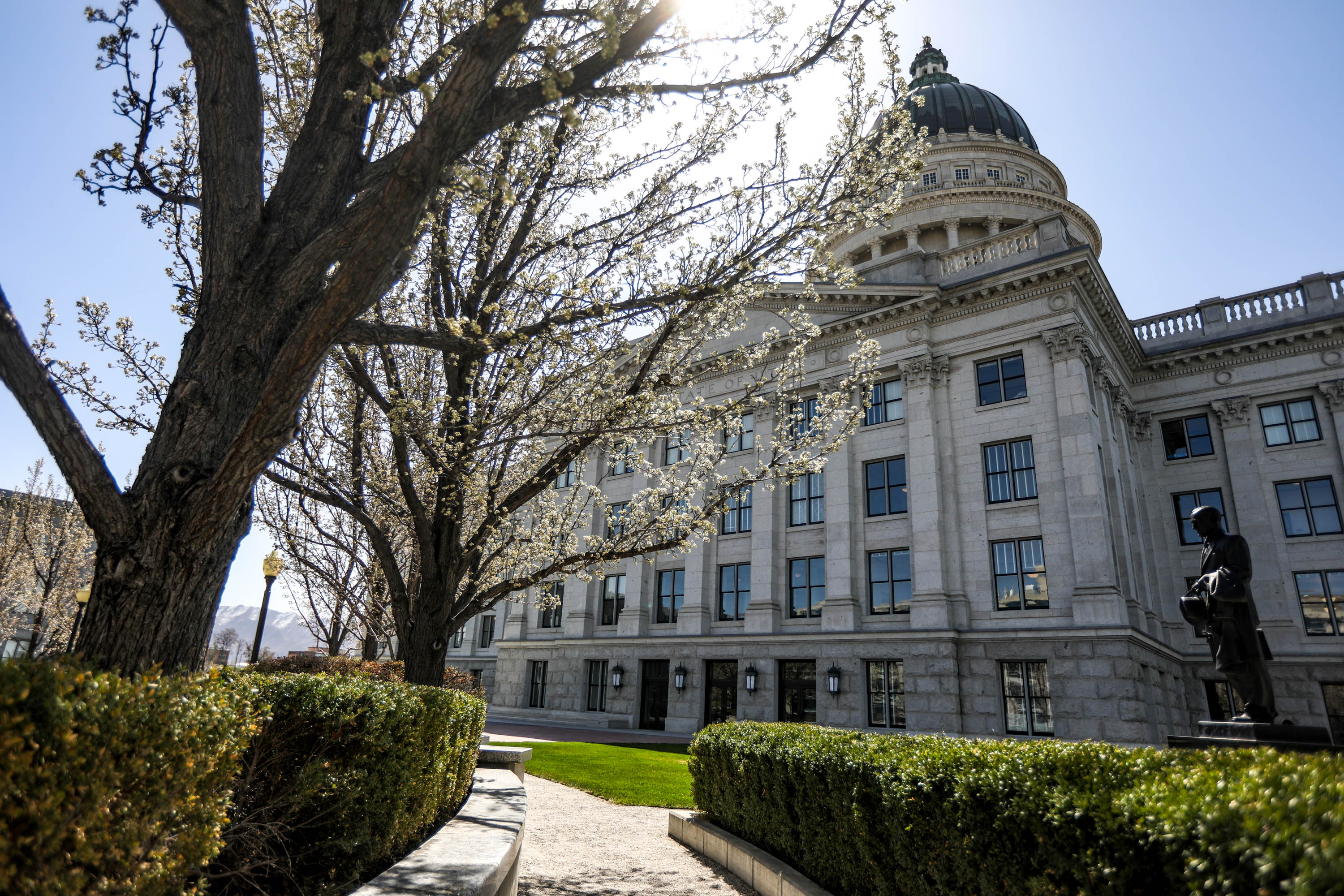 The state Capitol in Salt Lake City is pictured in April.