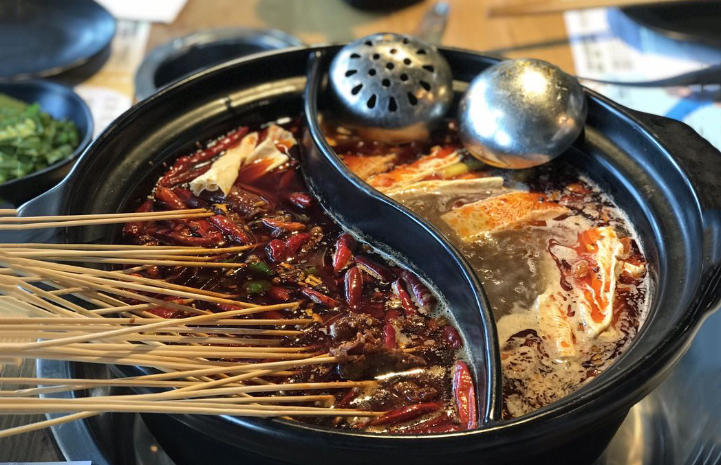 Hot pot with skewers from Nice 2 Meet U