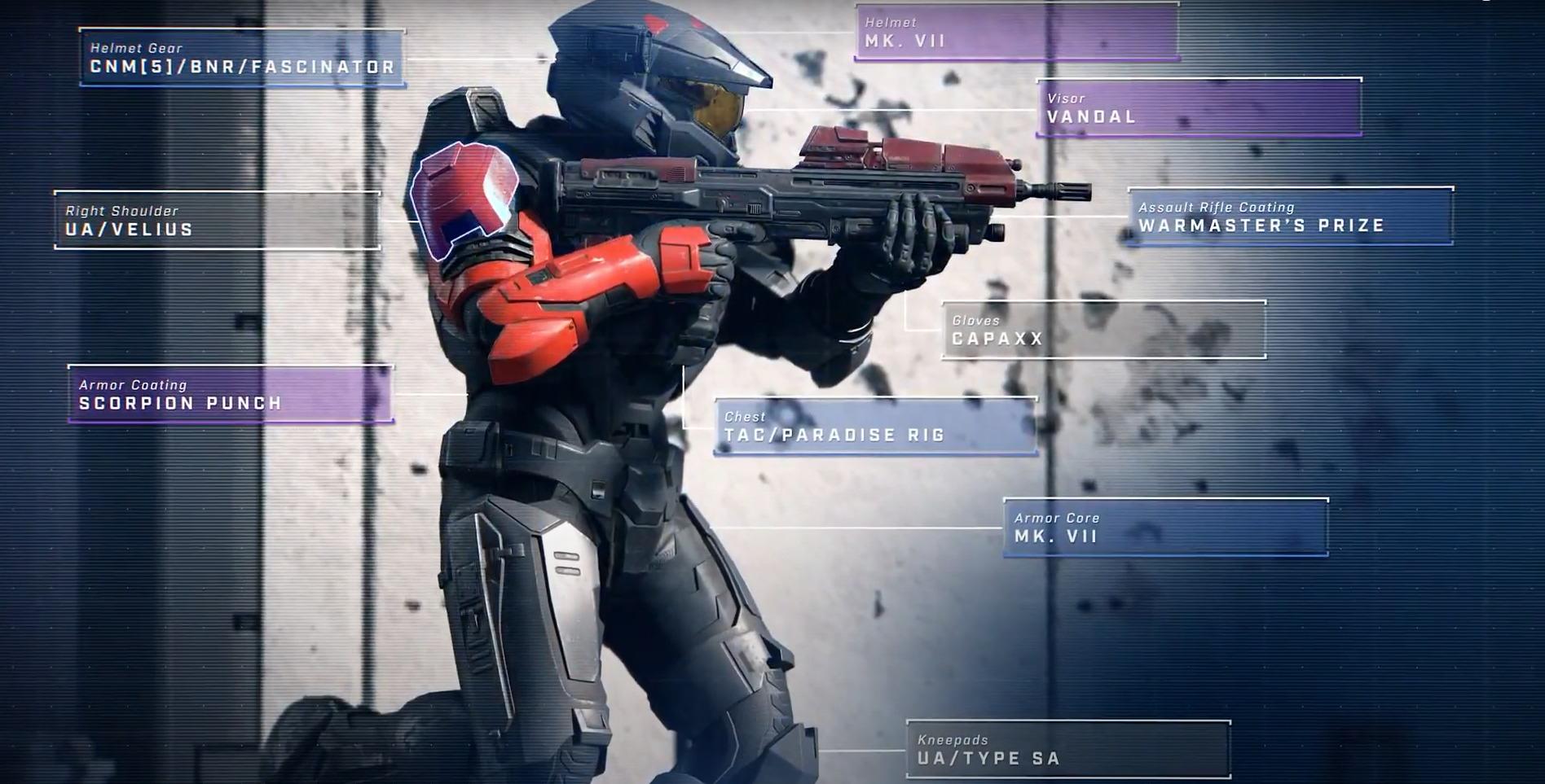Halo Infinite's armor customization options
