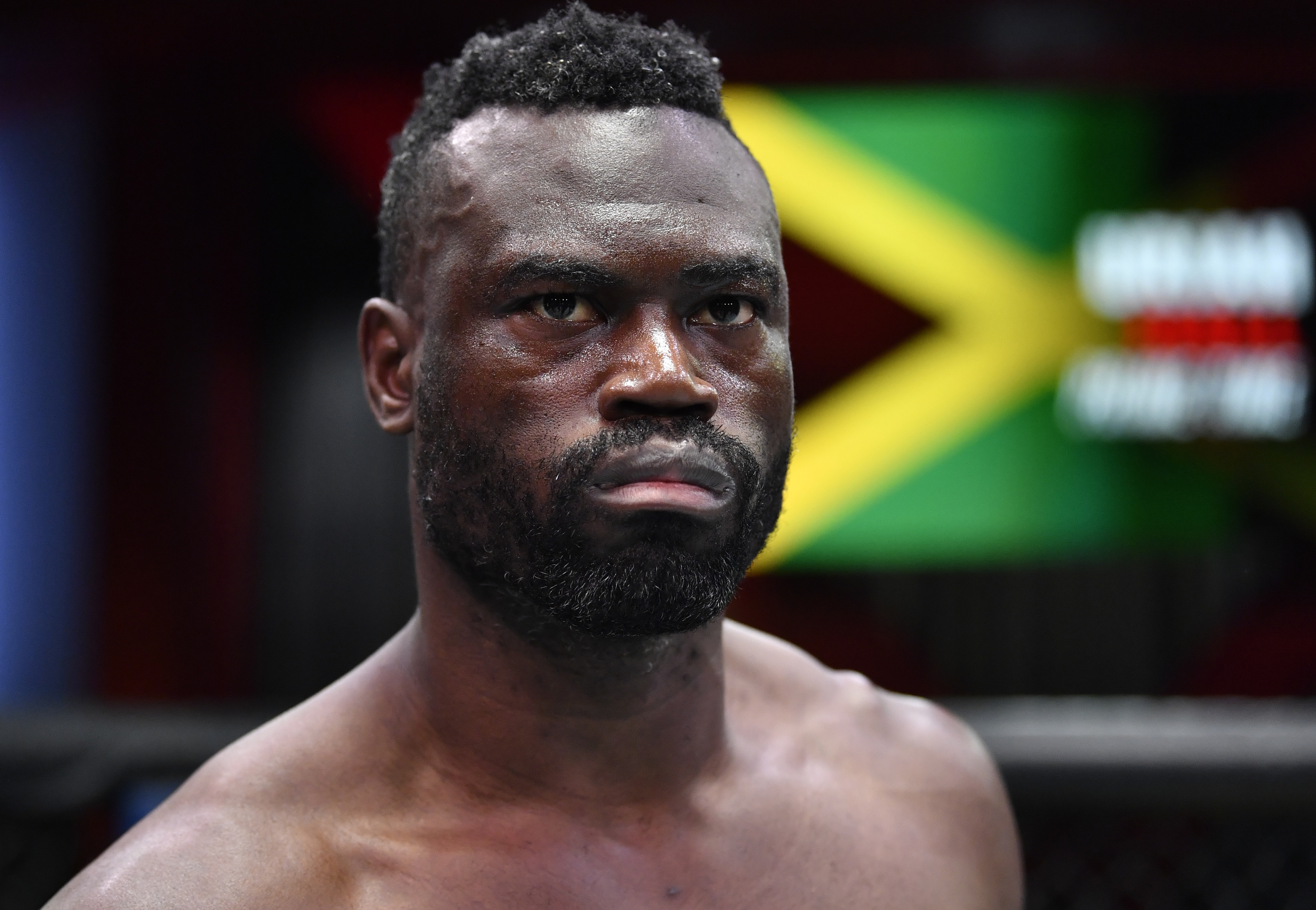 Uriah Hall before his fight with Sean Strickland at UFC Vegas 33 on Saturday.
