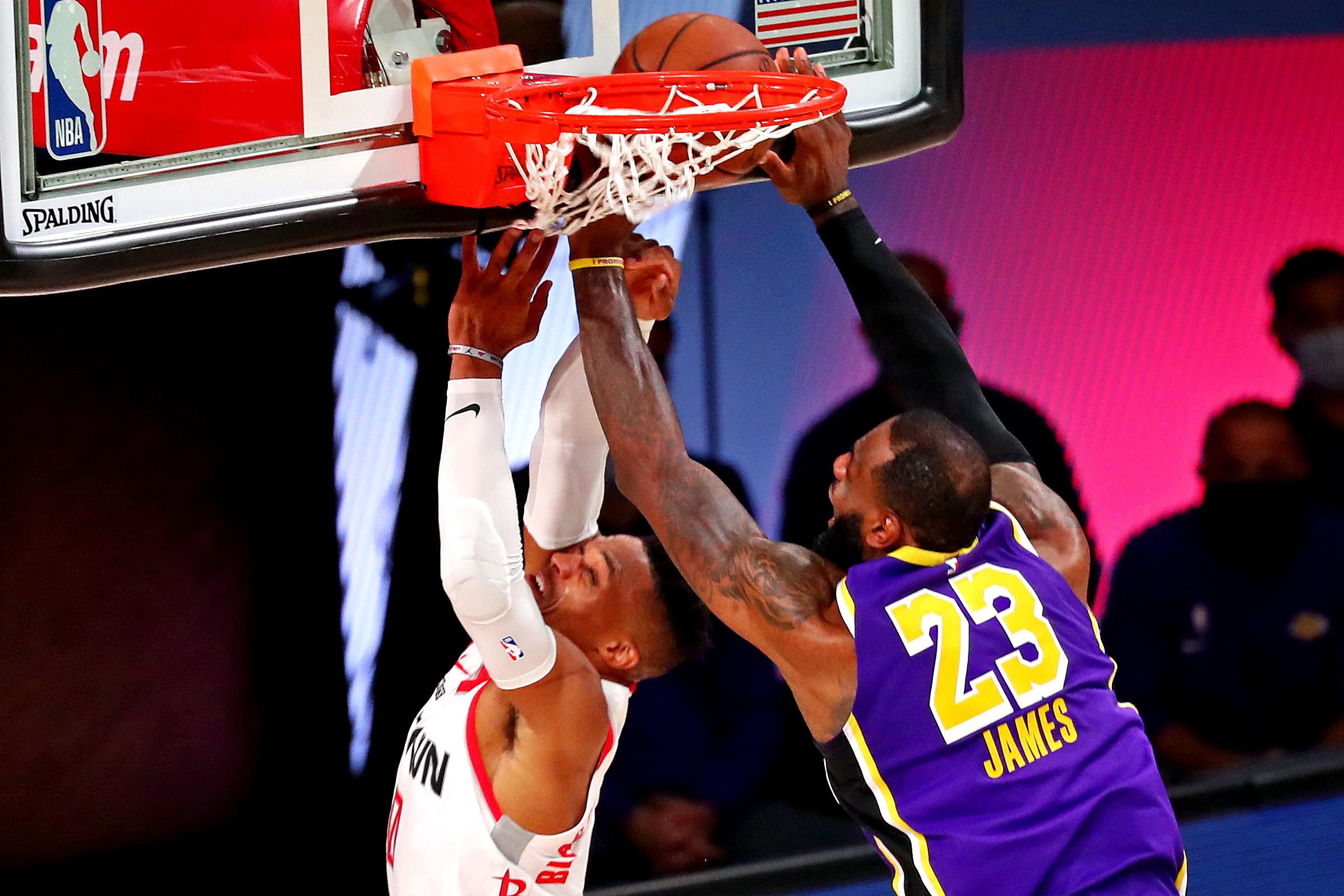 NBA: Playoffs-Houston Rockets at Los Angeles Lakers