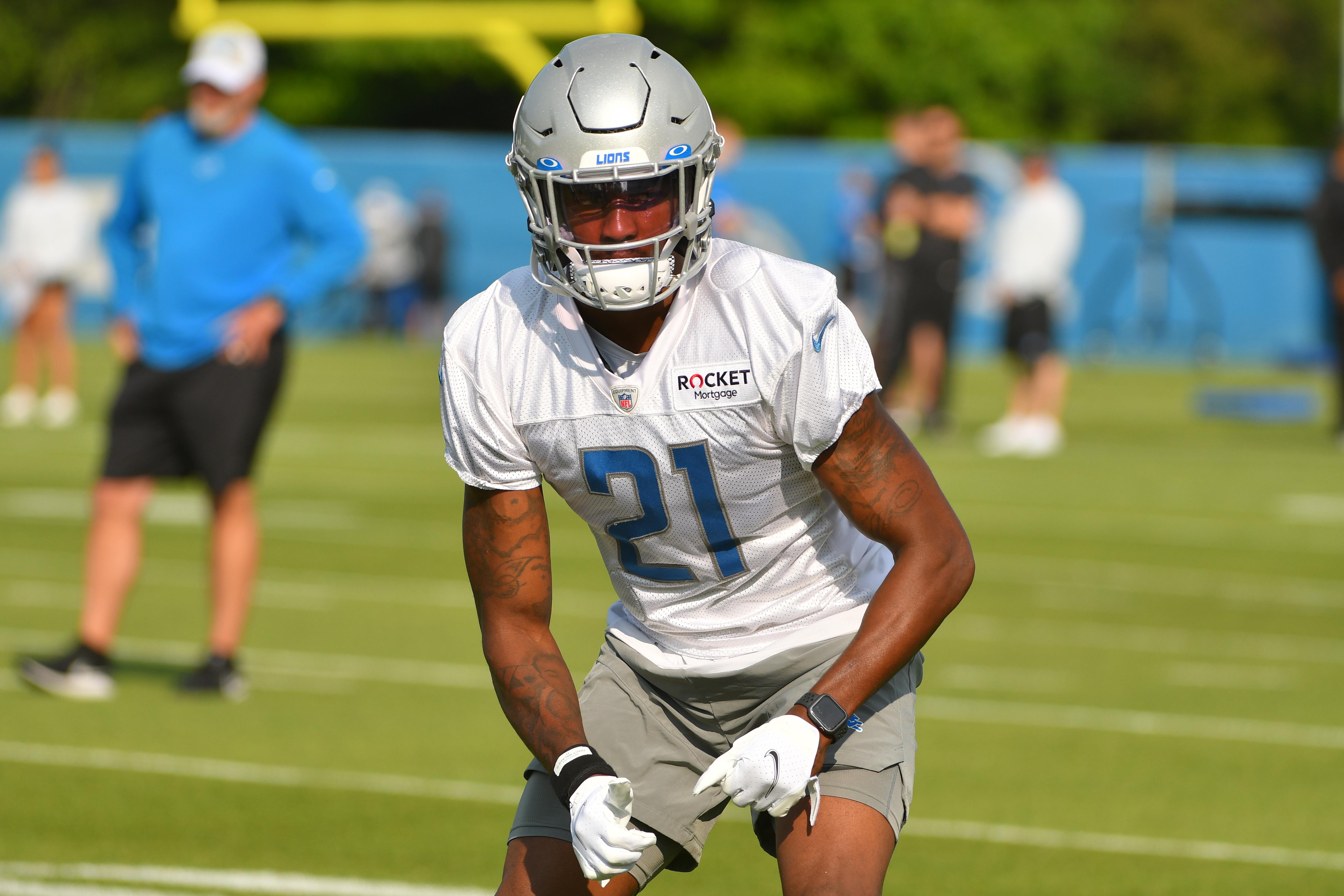 NFL: JUL 30 Detriot Lions Training Camp
