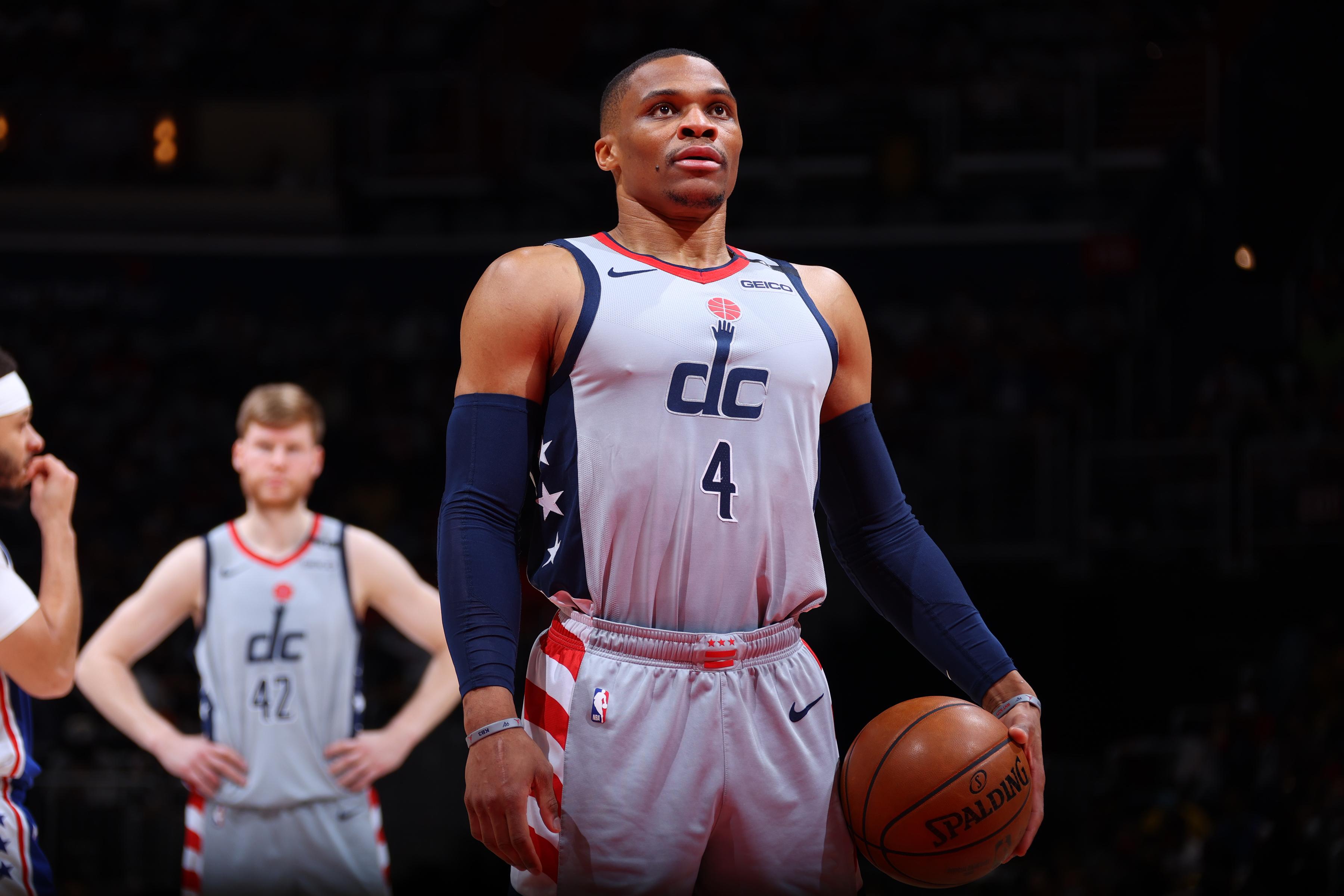 2021 NBA Playoffs - Philadelphia 76ers v Washington Wizards