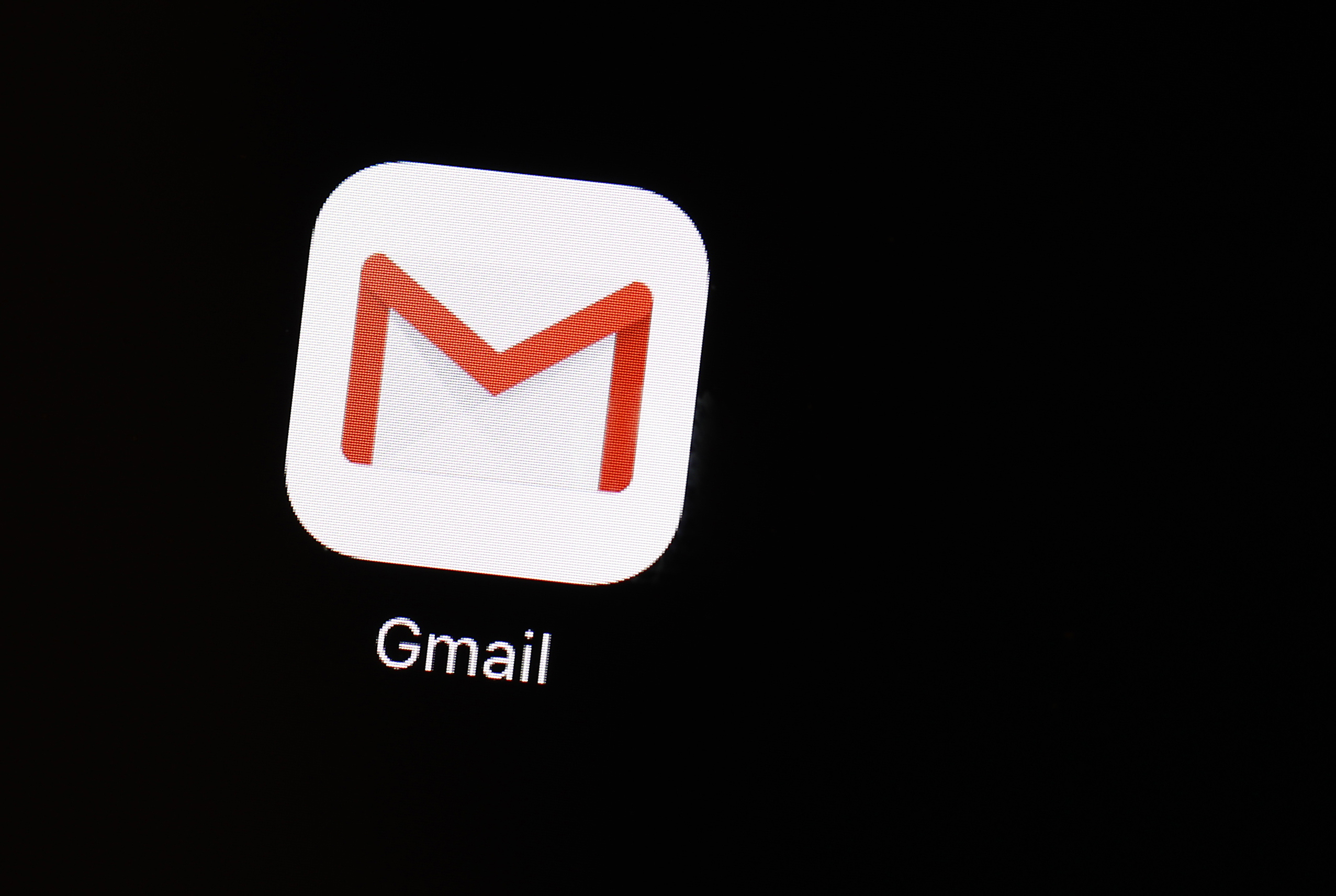 This March 20, 2018, file photo shows the Gmail app on an iPad in Baltimore. Consumers report spending five hours a day checking email, according to a 2019 study byAdobe. That's five hours each day we could be using for exercise, family time, work projects and sleep.