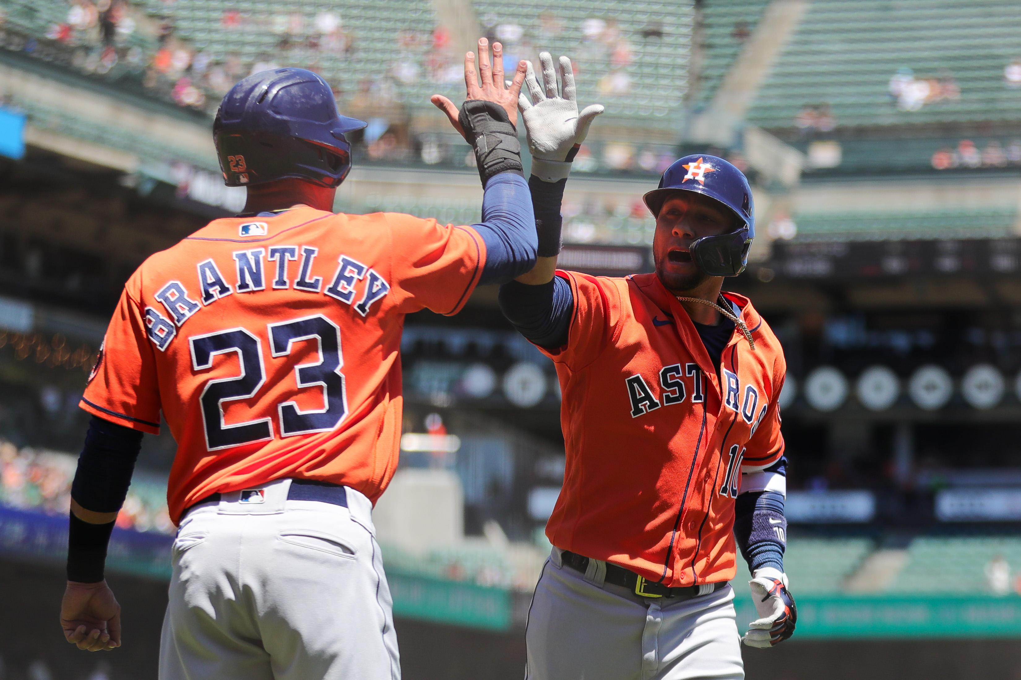 MLB: Houston Astros at San Francisco Giants