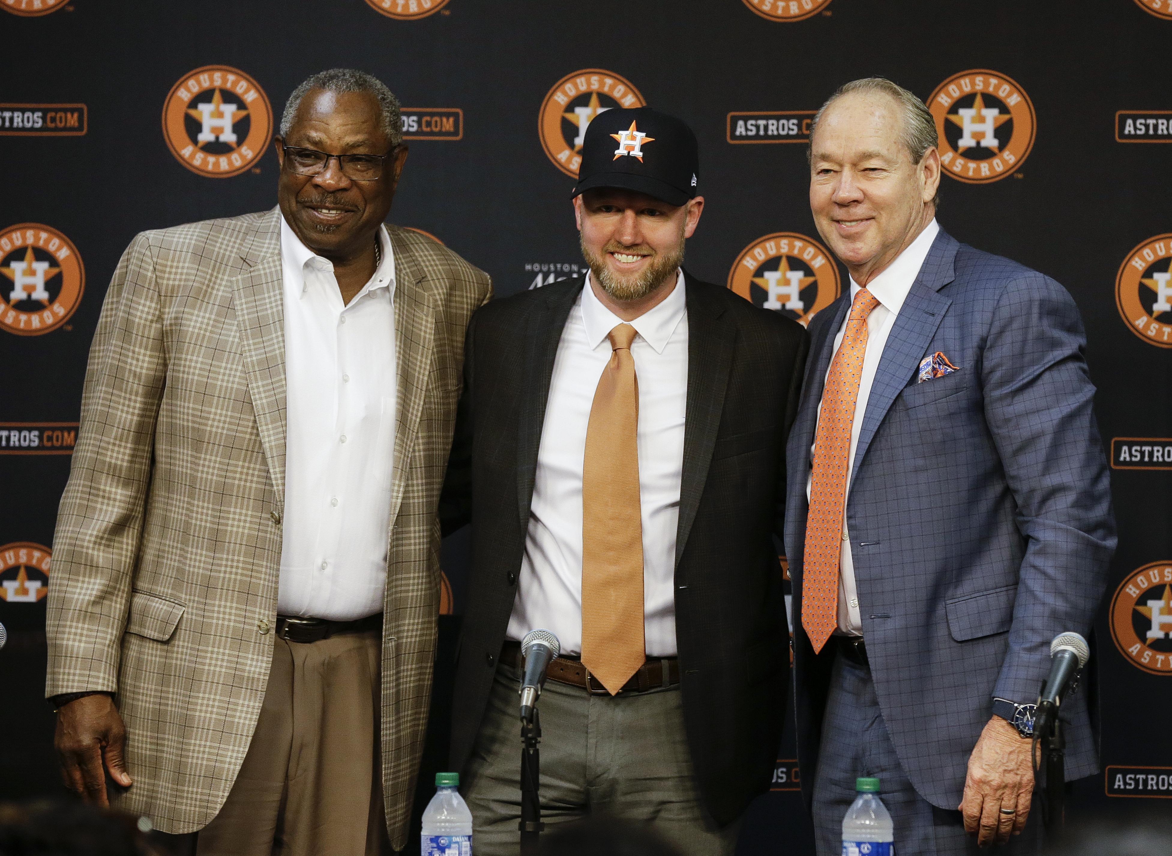 Houston Astros Introduce James Click