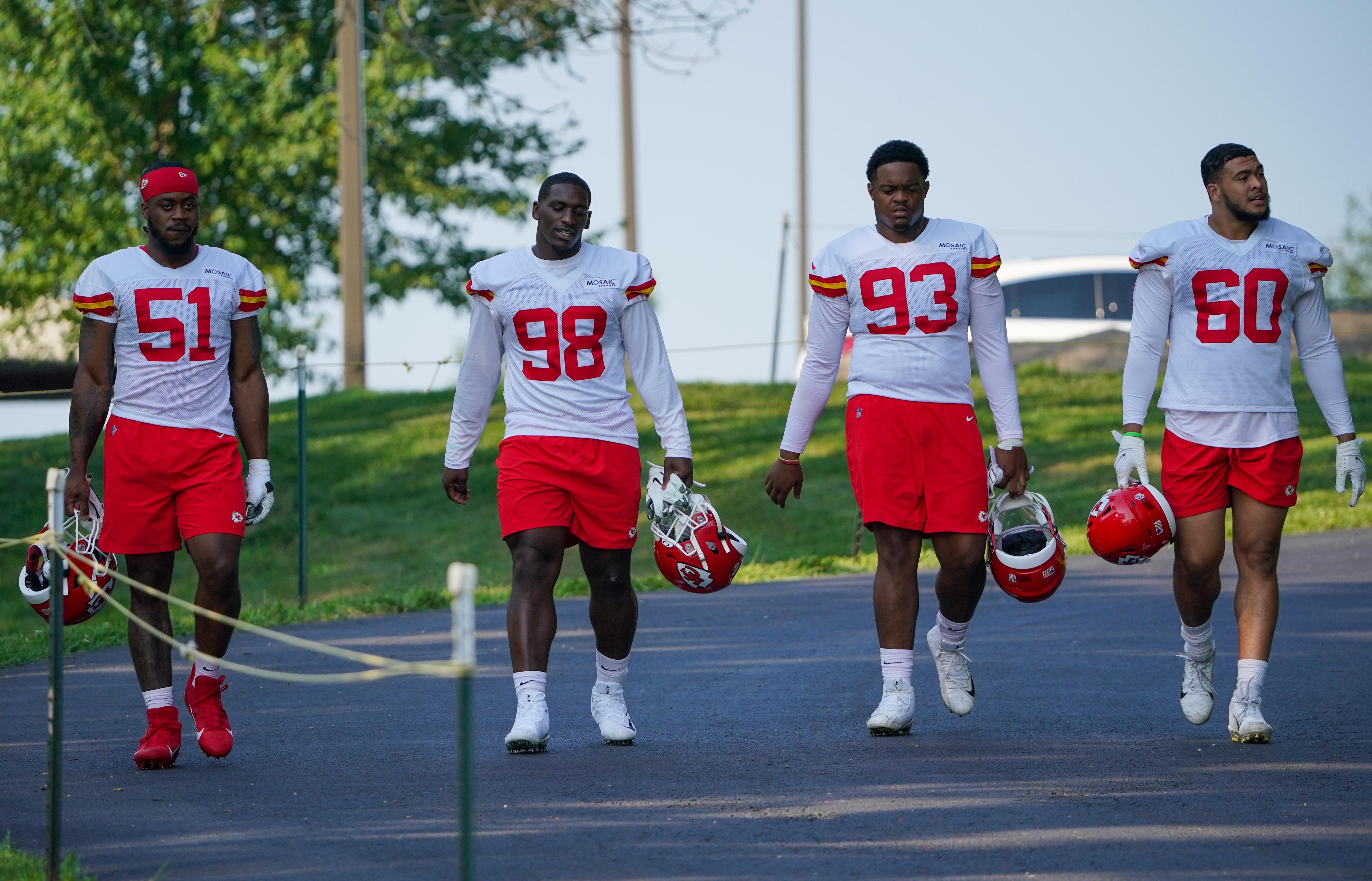 NFL: Kansas City Chiefs Training Camp