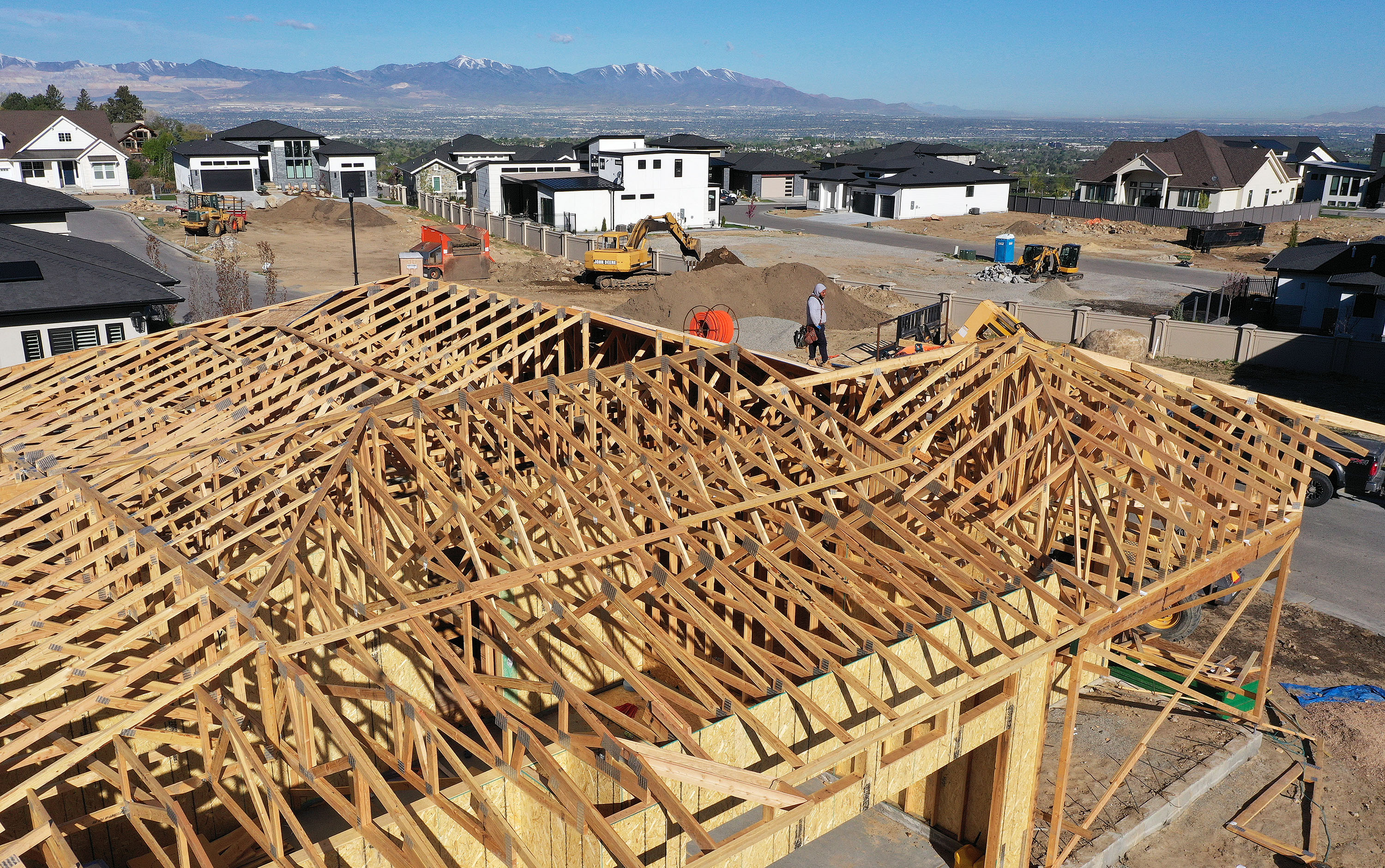 Housing construction can't keep up with demand in Utah.