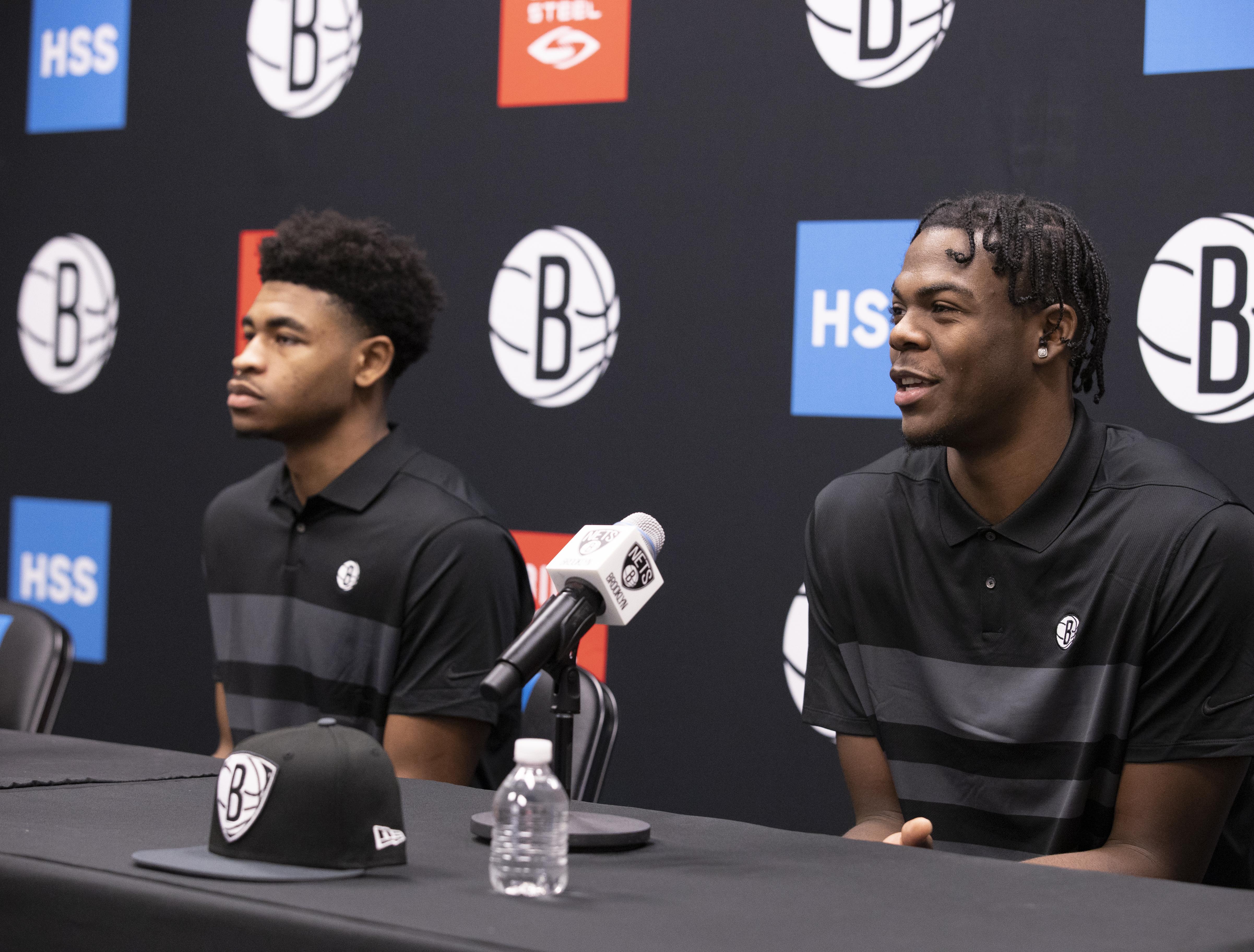 Brooklyn Nets Introduce Draft Picks - Press Conference