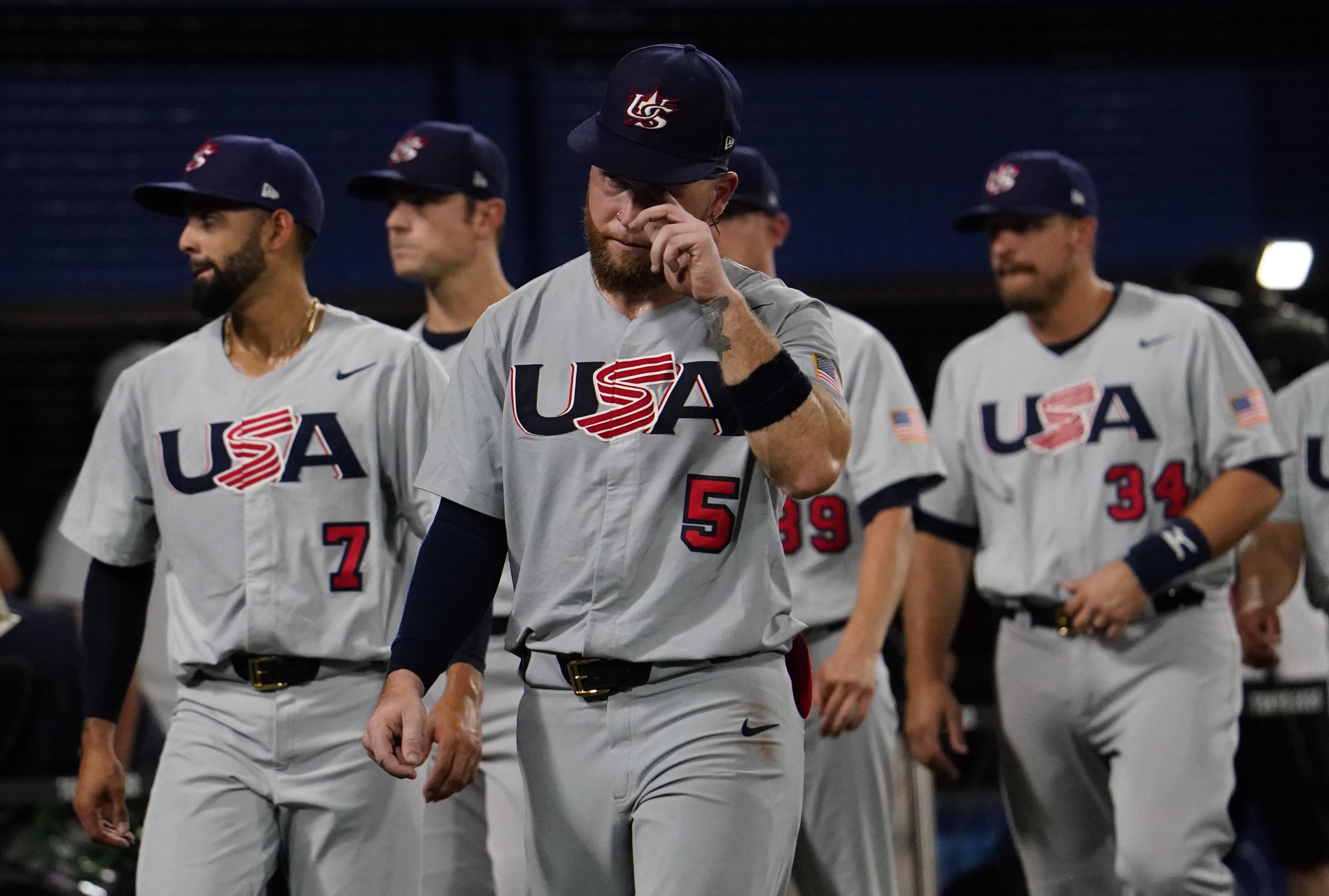 Olympics: Baseball-Men Round 2 - USA-JPN