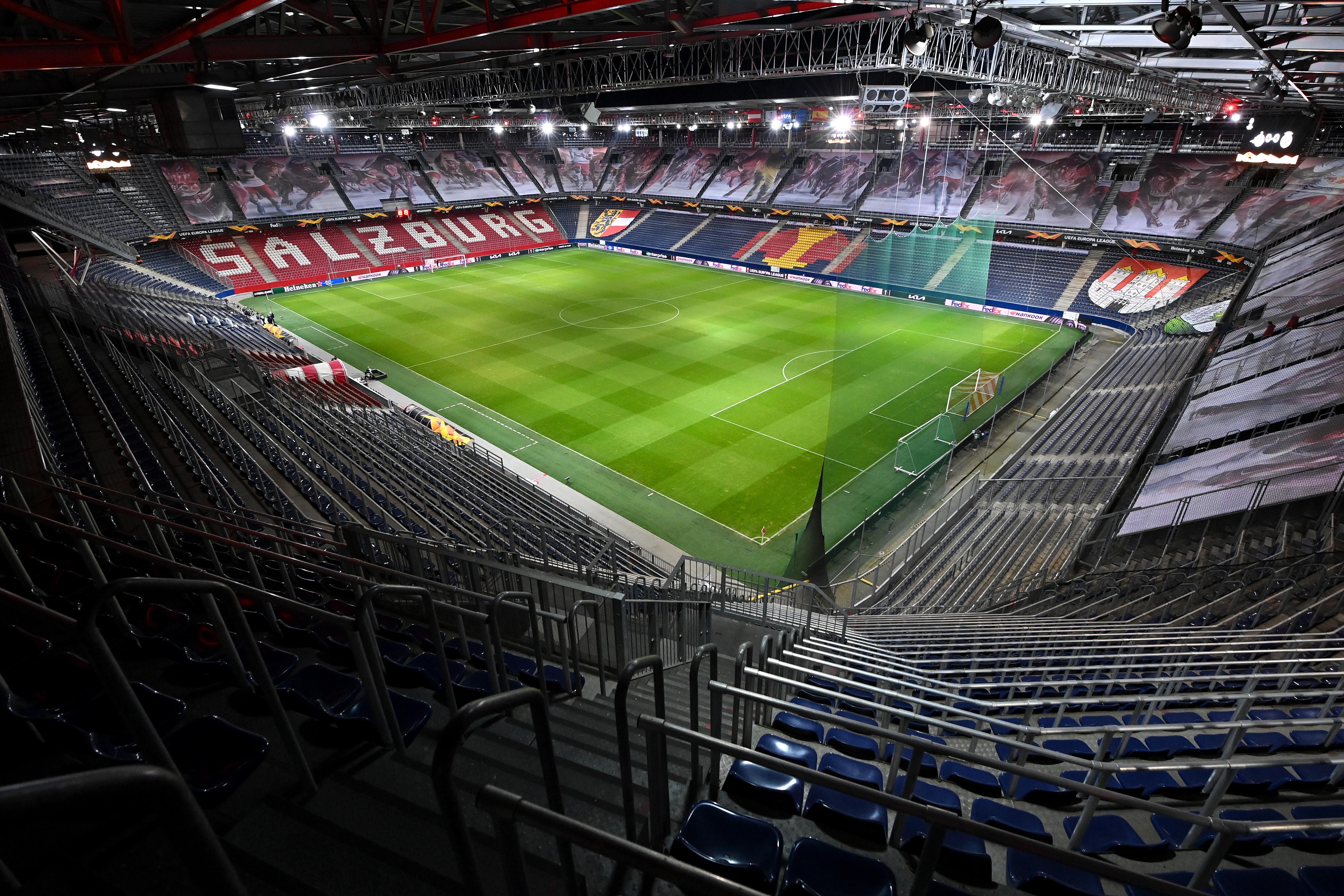 FC Salzburg v Villarreal CF - UEFA Europa League Round Of 32 Leg One