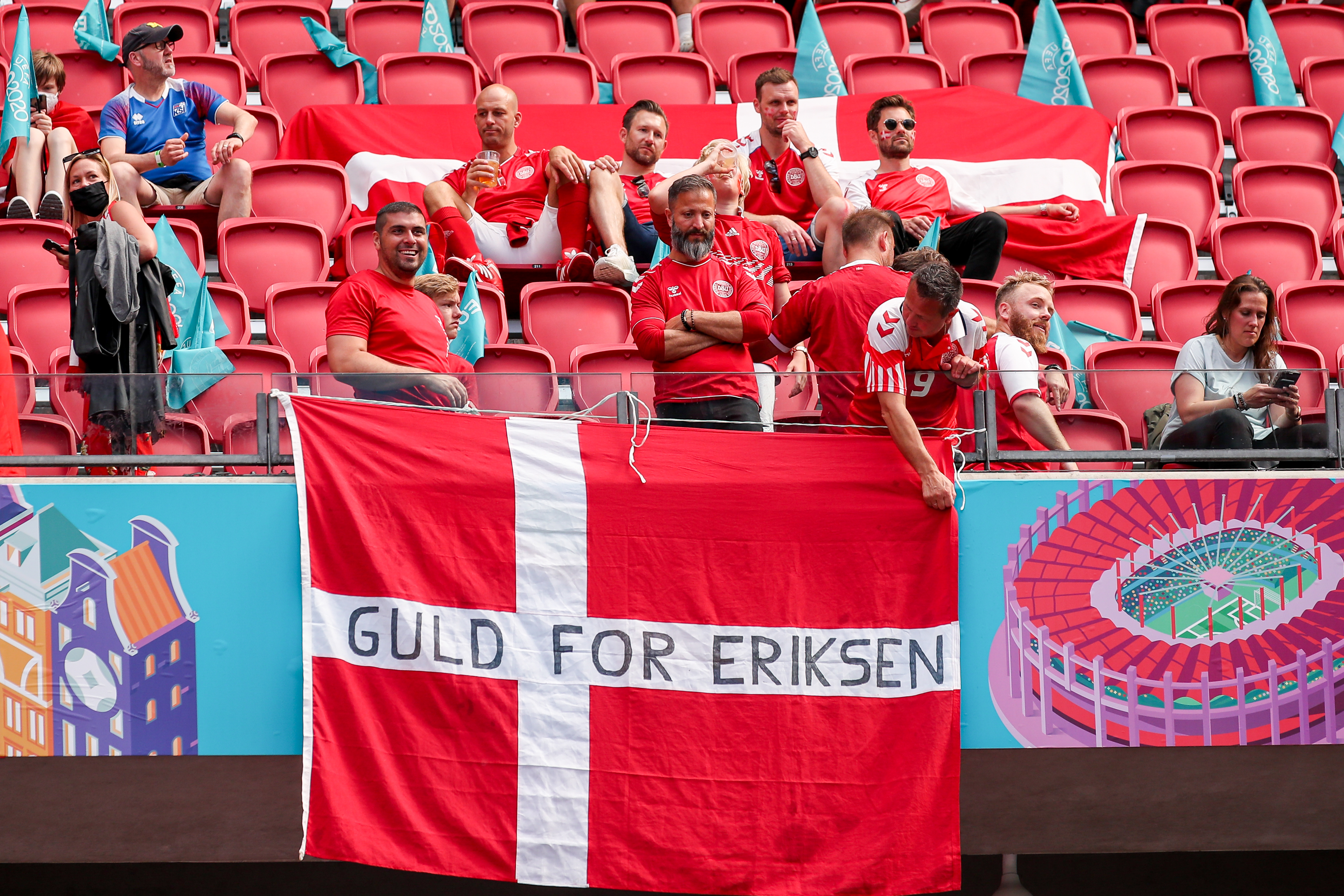 Wales - Denmark - UEFA Euro 2020 Championship 1/8 final