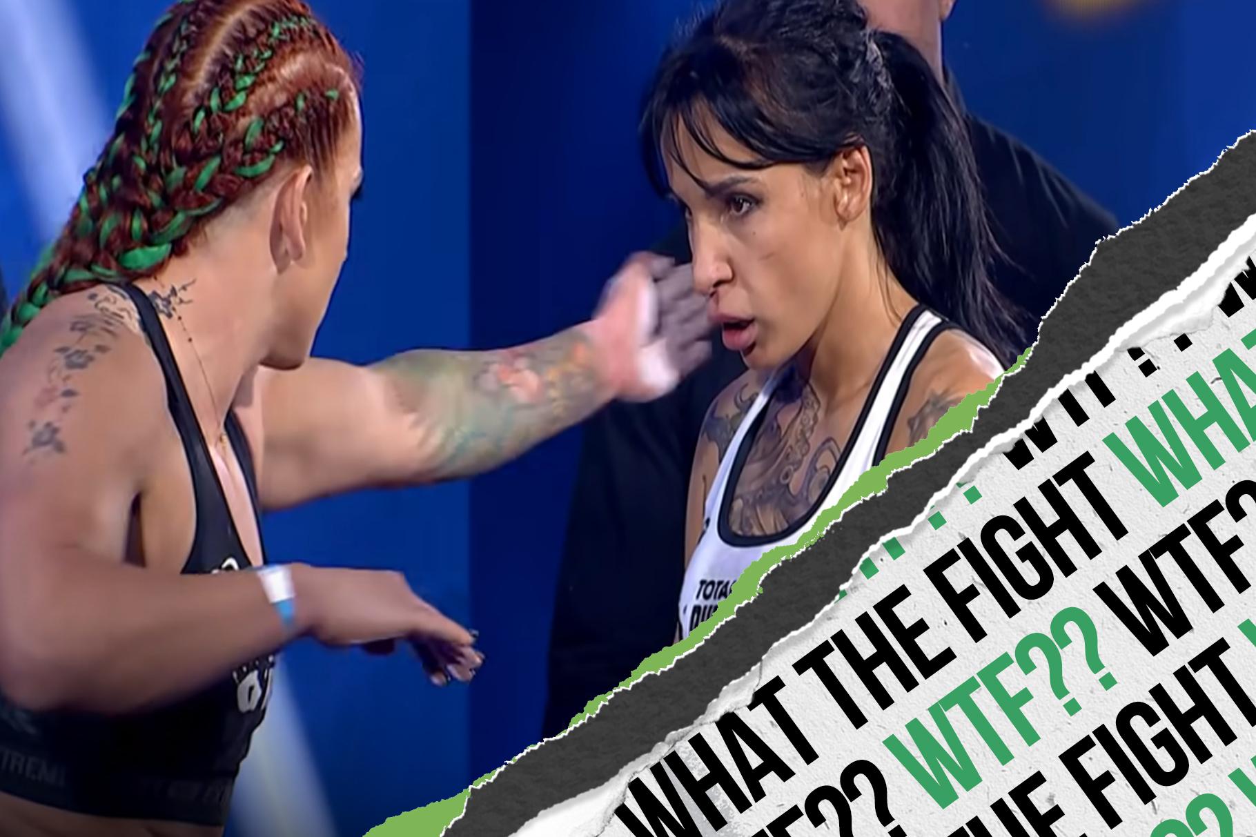 Boxer vs. Bodybuilder at PUNCHDOWN 4 Female Super Fight!