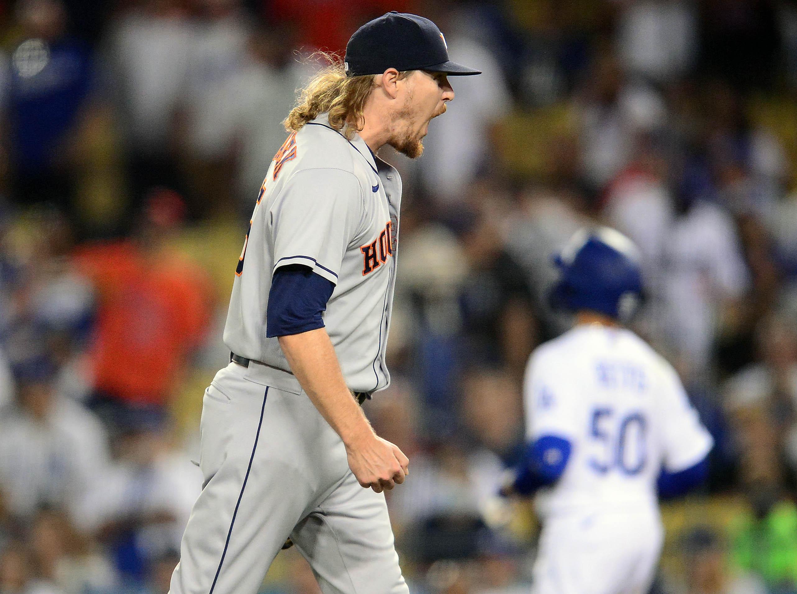 MLB: Houston Astros at Los Angeles Dodgers