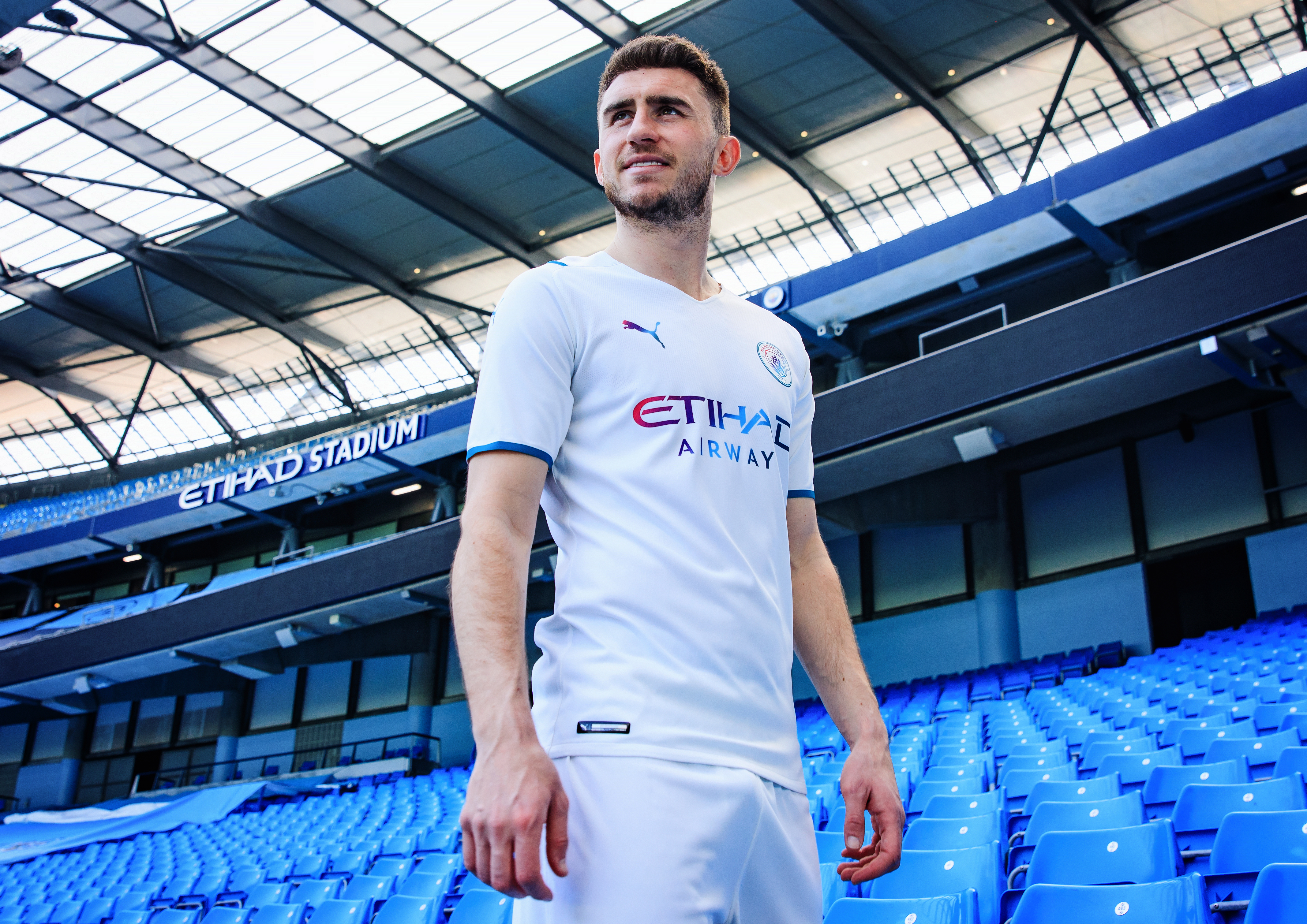 Manchester City Away Kit Launch