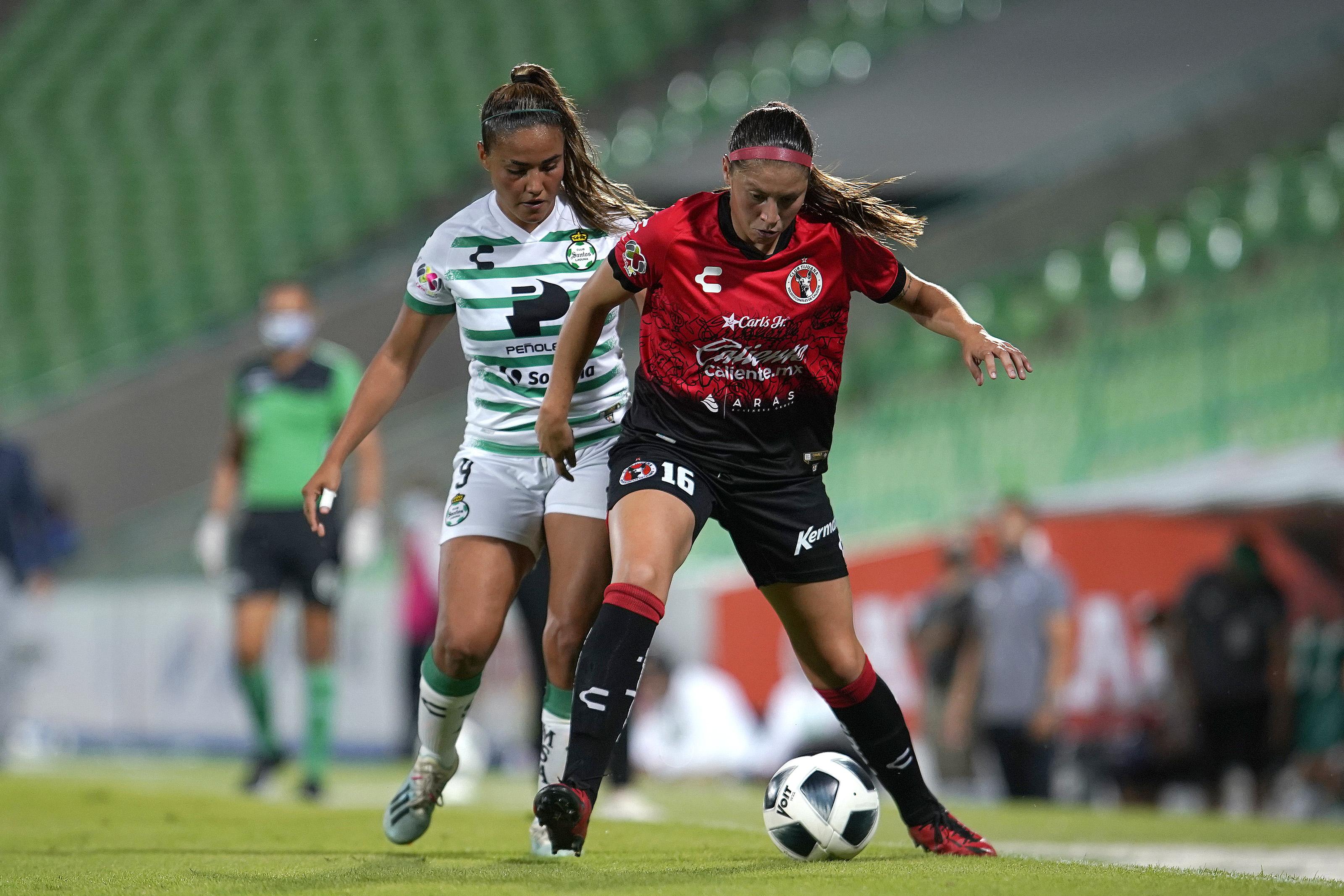 Santos Laguna v Tijuana - Torneo Grita Mexico A21 Liga MX Femenil