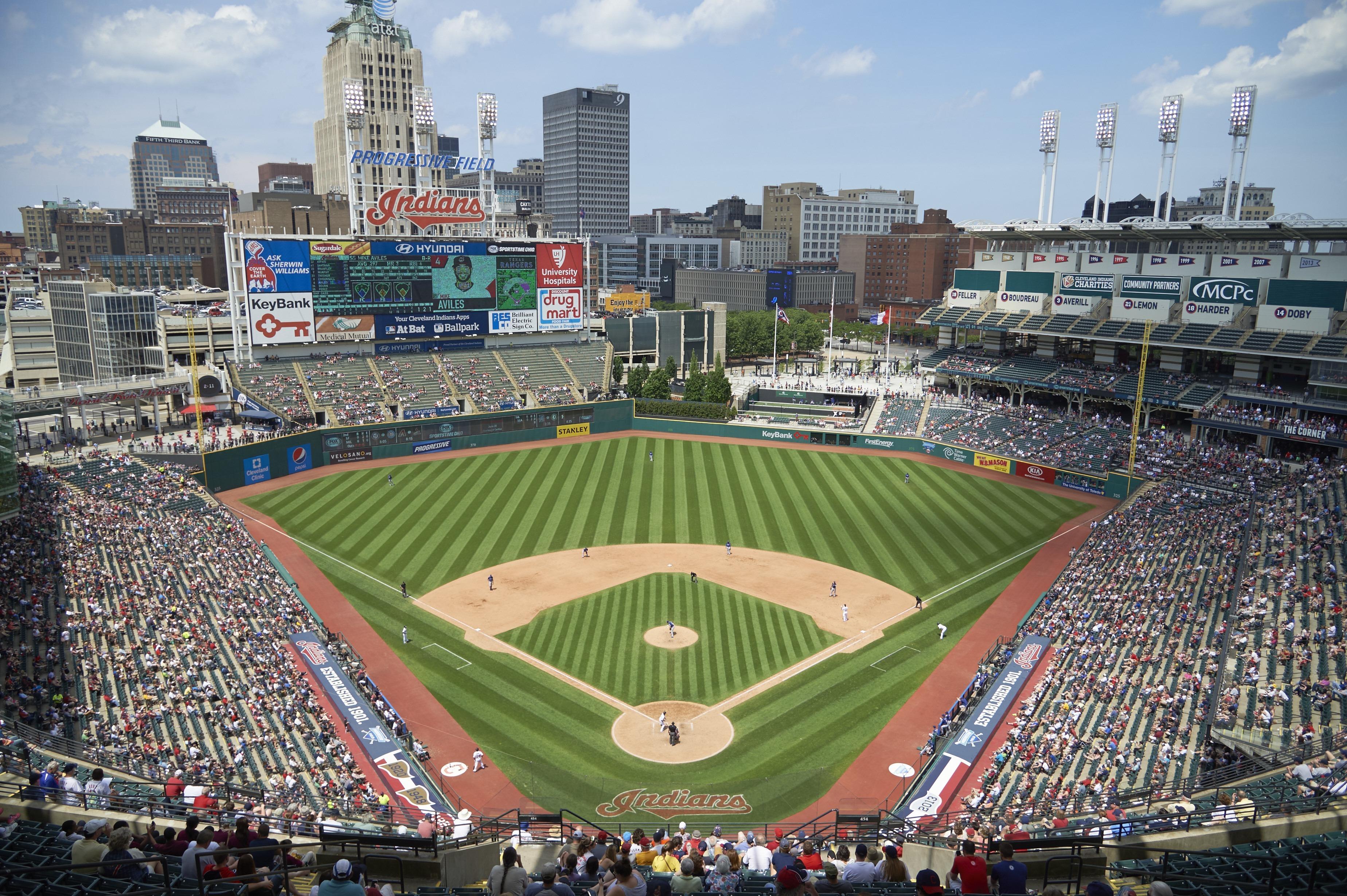 Cleveland Indians vs Texas Rangers