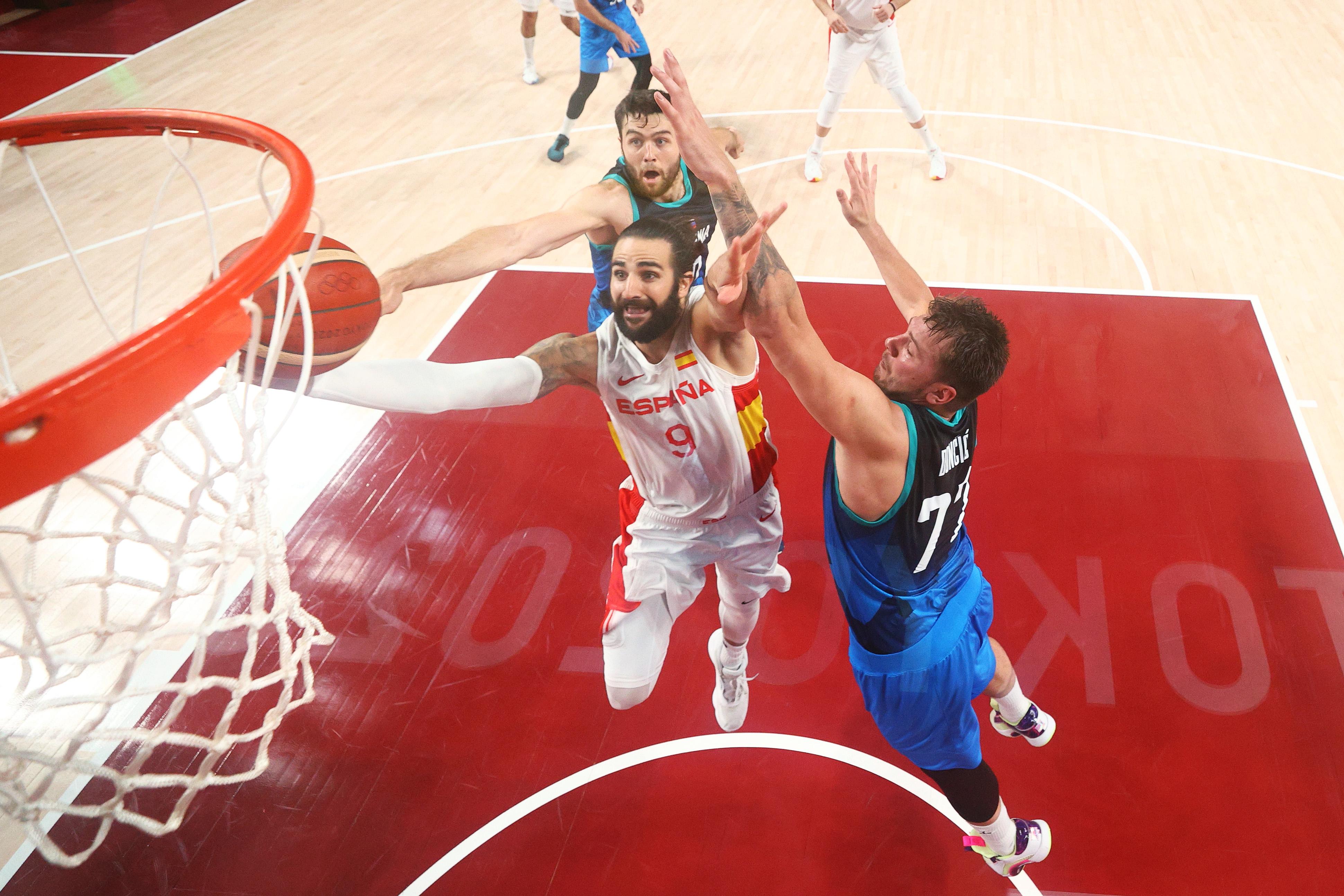 Spain v Slovenia Men's Basketball - Olympics: Day 9