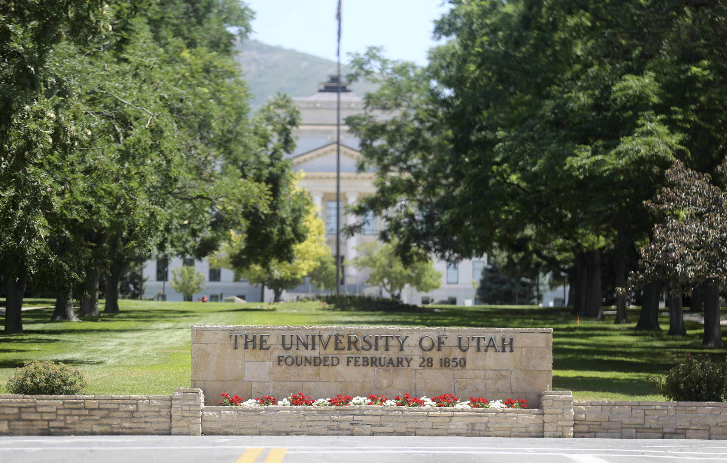 The University of Utah in Salt Lake City is pictured on Tuesday, July 28, 2020.