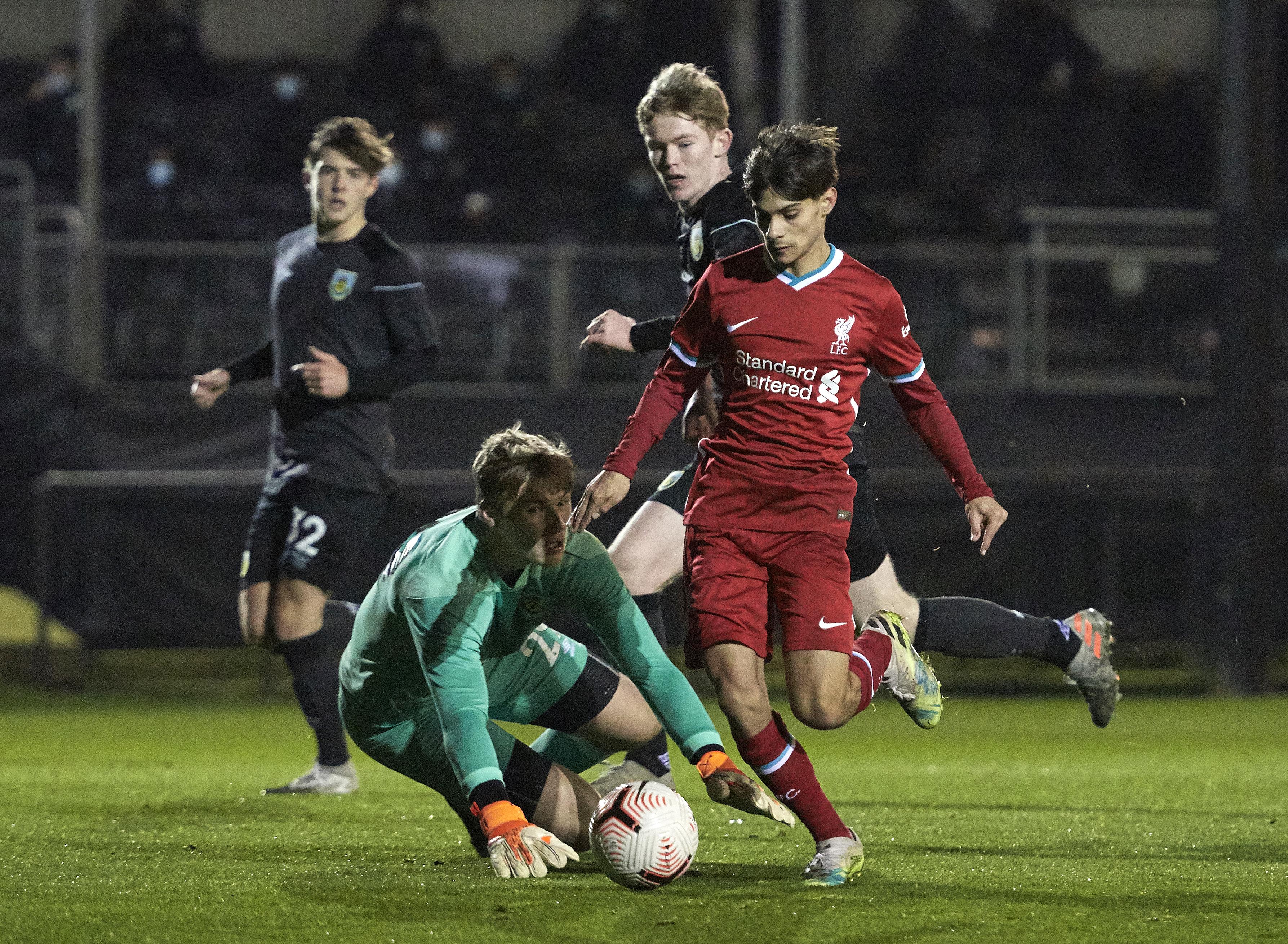 Liverpool v Burnley: U18 Premier League