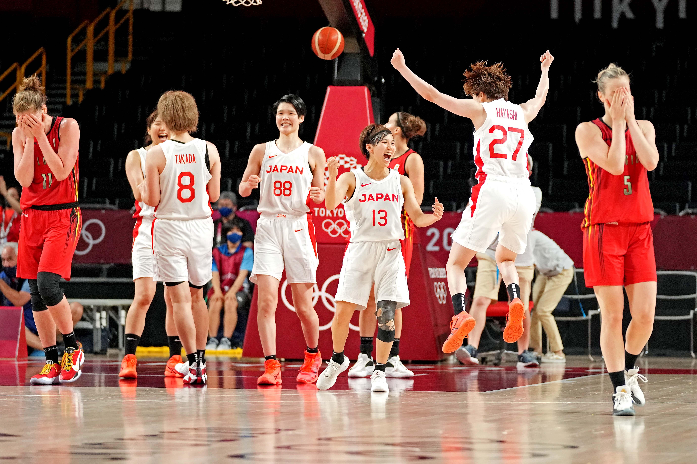 Olympics: Basketball-Women Quarterfinal - JPN-BEL