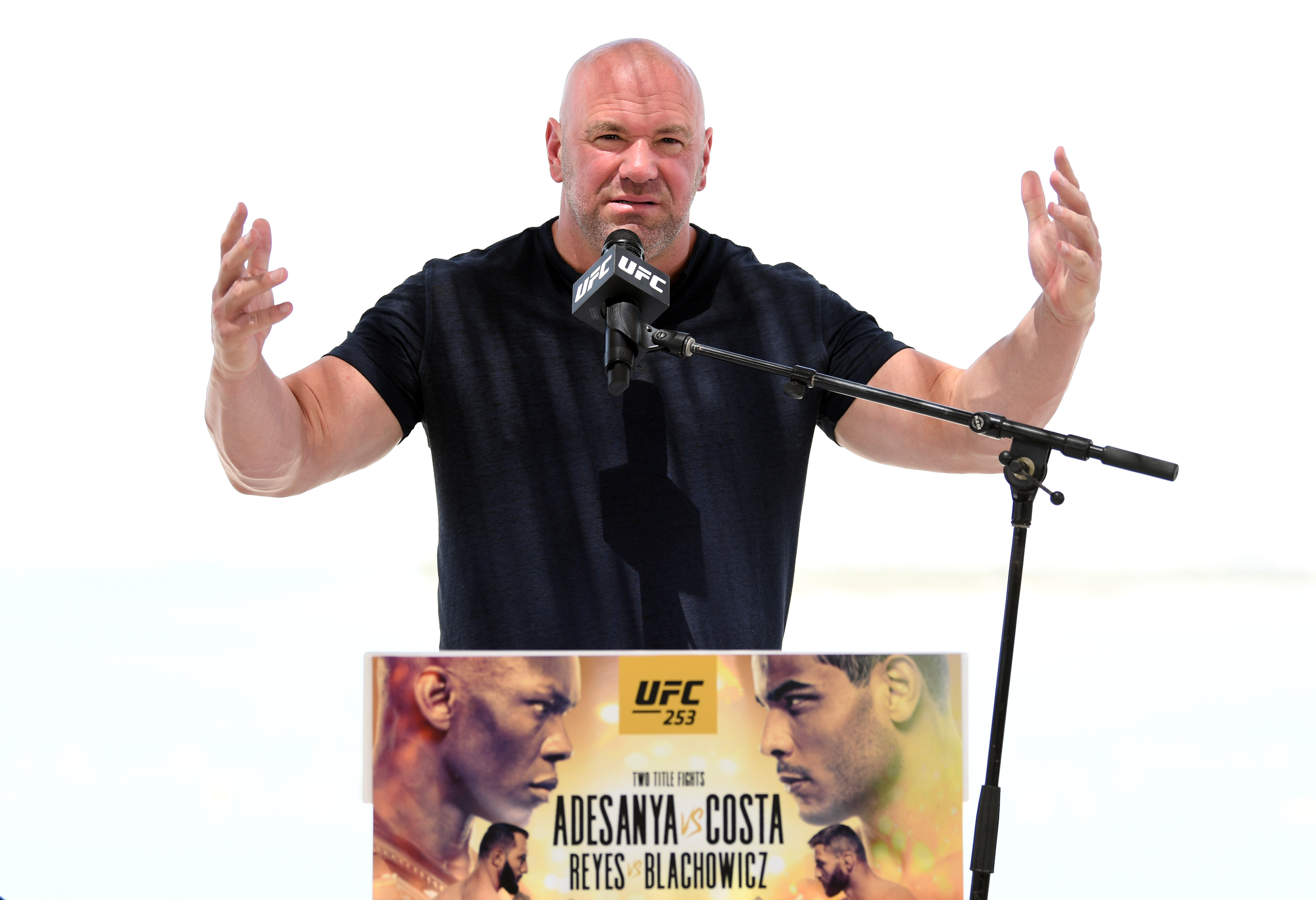 UFC president Dana White was not the mastermind behind Fight Island
