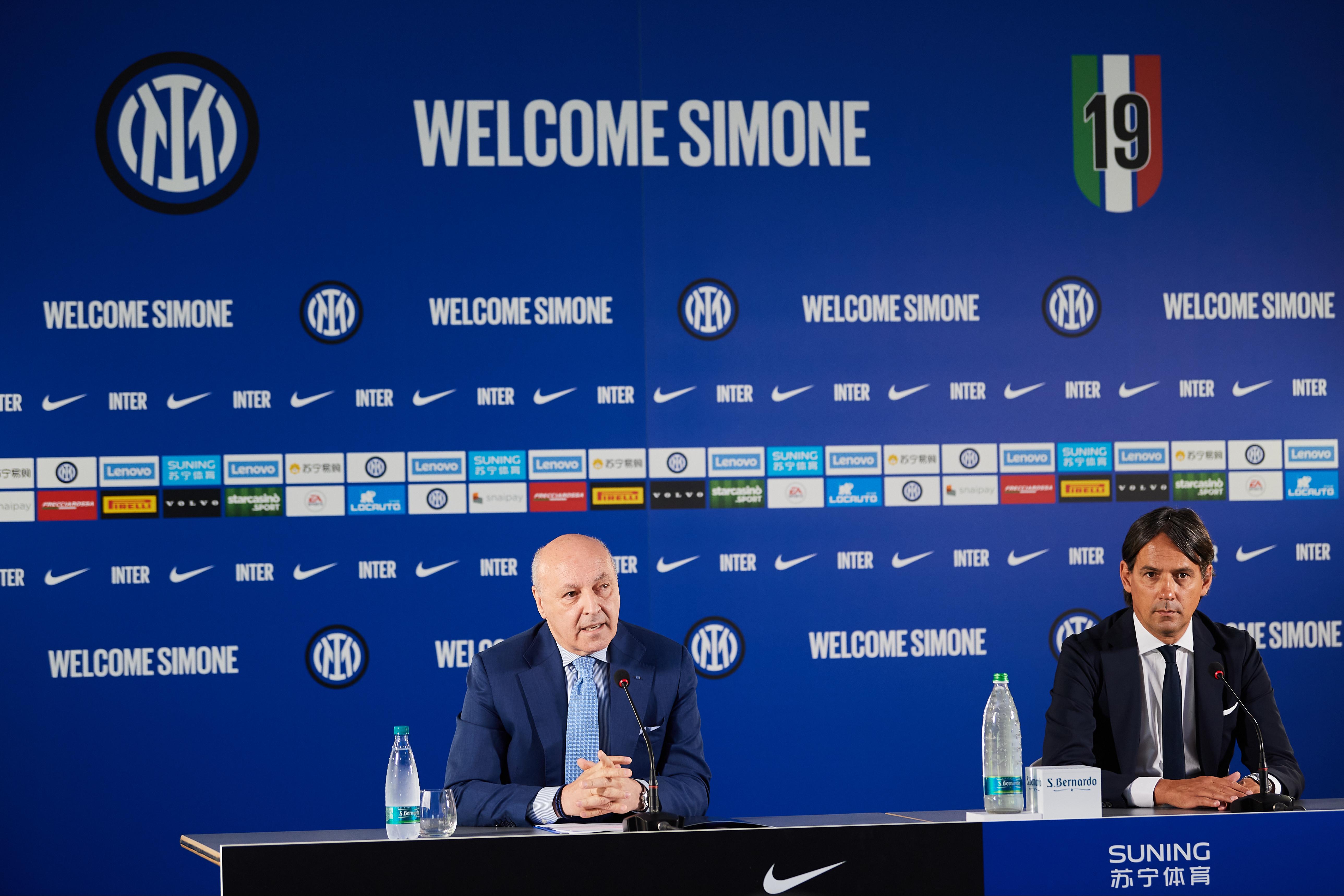 FC Internazionale Press Conference
