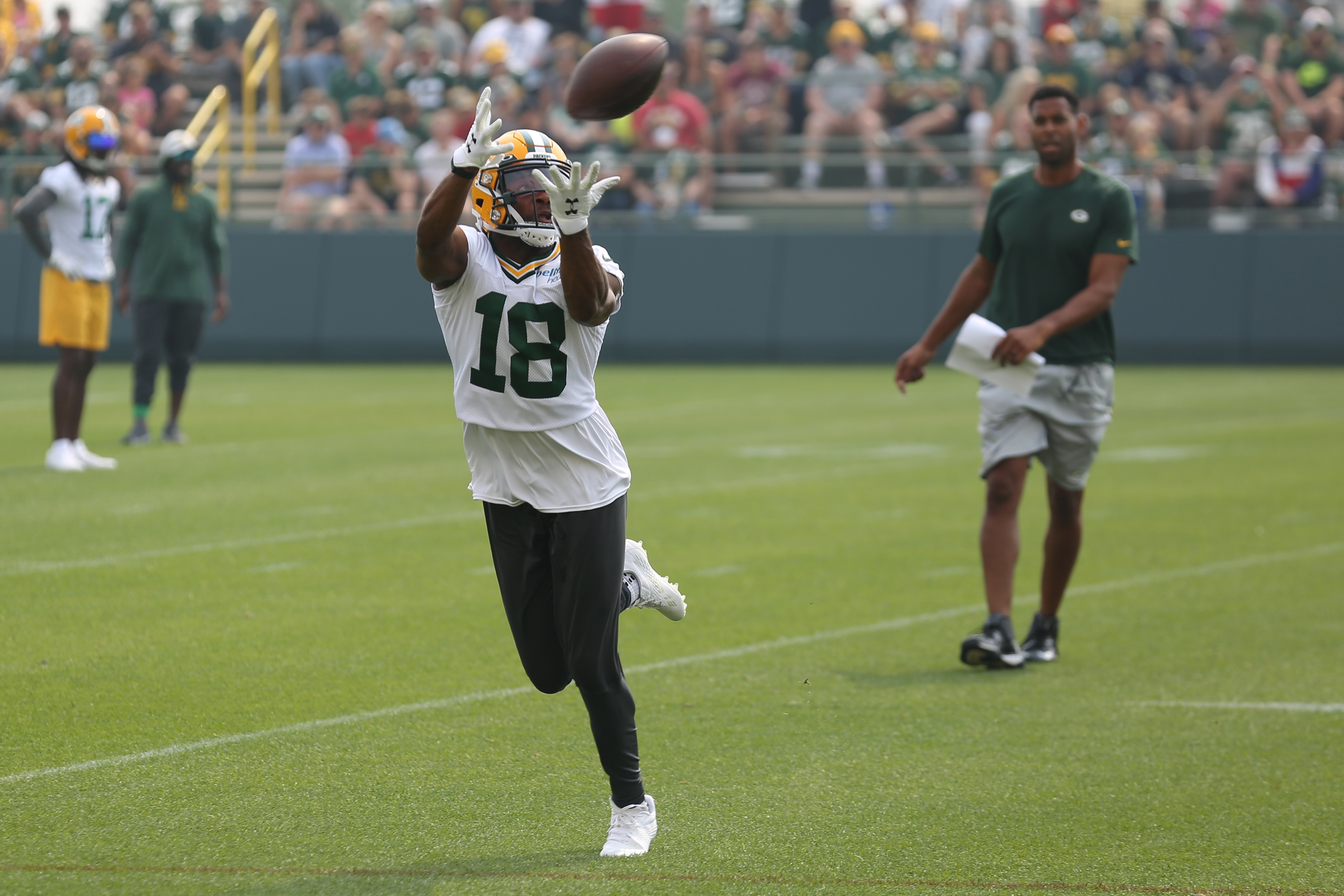 NFL: JUL 31 Green Bay Packers Training Camp
