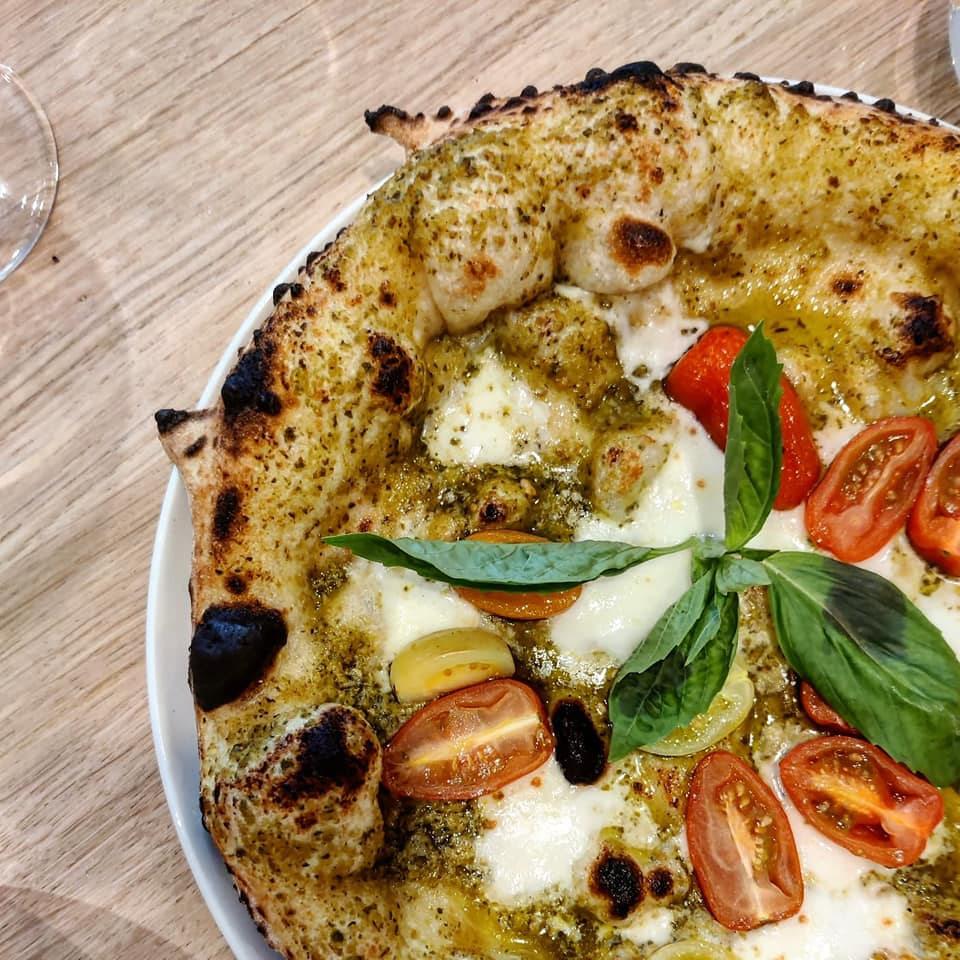 Bocca Bocca, a new Neopolitan pizzeria, will open in Leytonstone, serving the likes of a margherita with tomato, mozzarella, and a chewy, blistered cornicione, pictured.