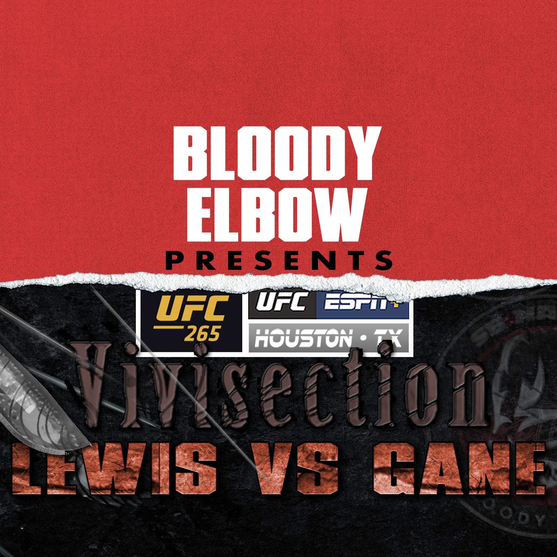 MMA VIVI, The MMA Vivisection, UFC Podcast, UFC 265, UFC Picks, UFC Odds, UFC Analysis, Derrick Lewis vs Ciryl Gane Preview,