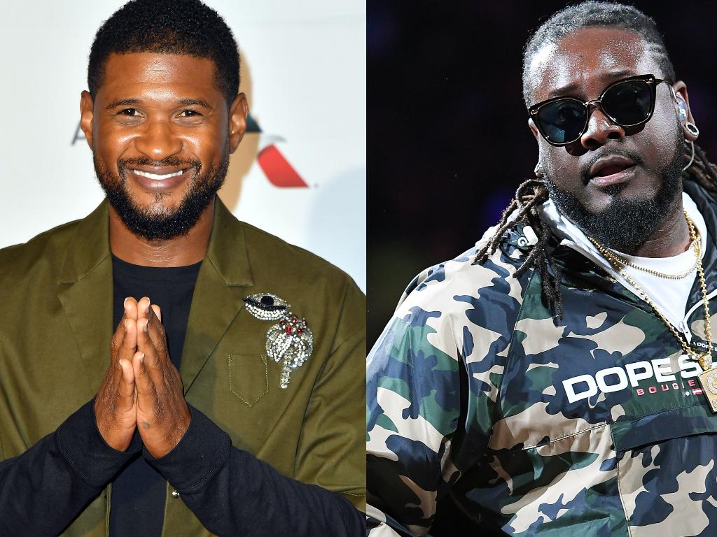 Usher, T-Pain